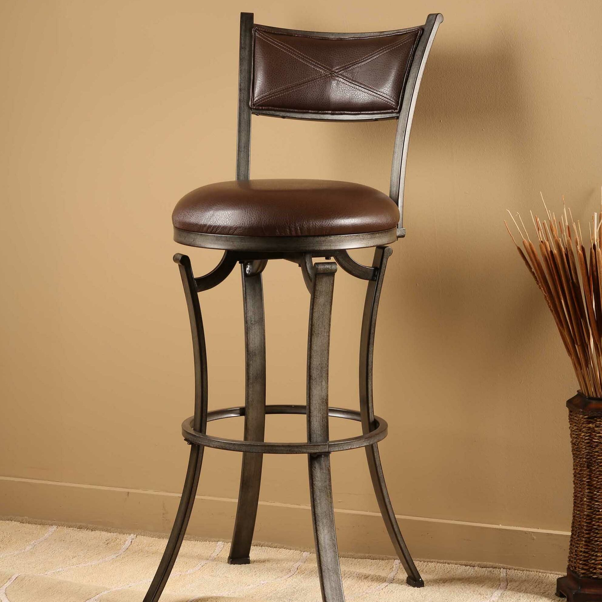 World Menagerie Annandale 26 Quot Swivel Bar Stool Amp Reviews
