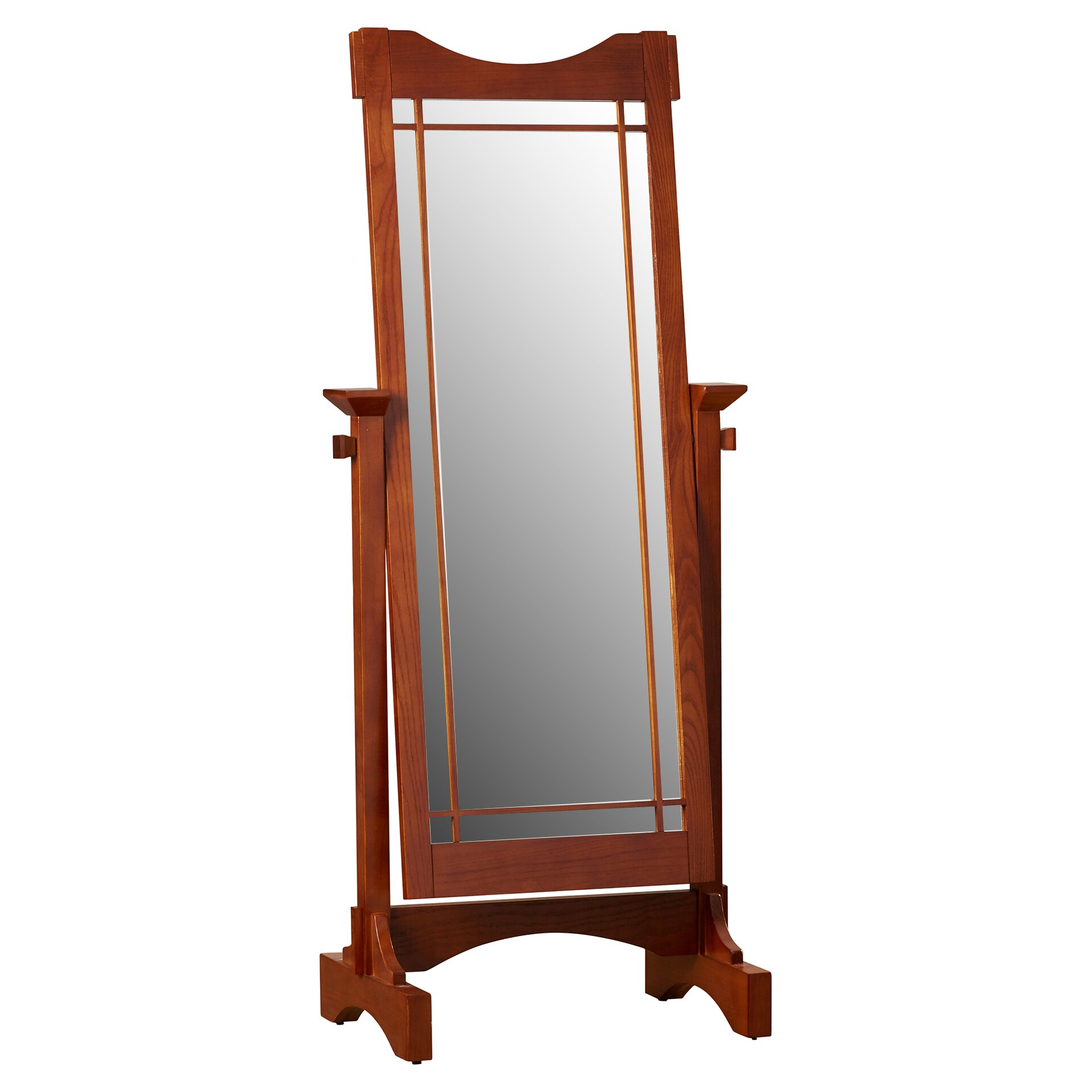 Darby home co cranbrook cheval mirror reviews wayfair for Cheval mirror