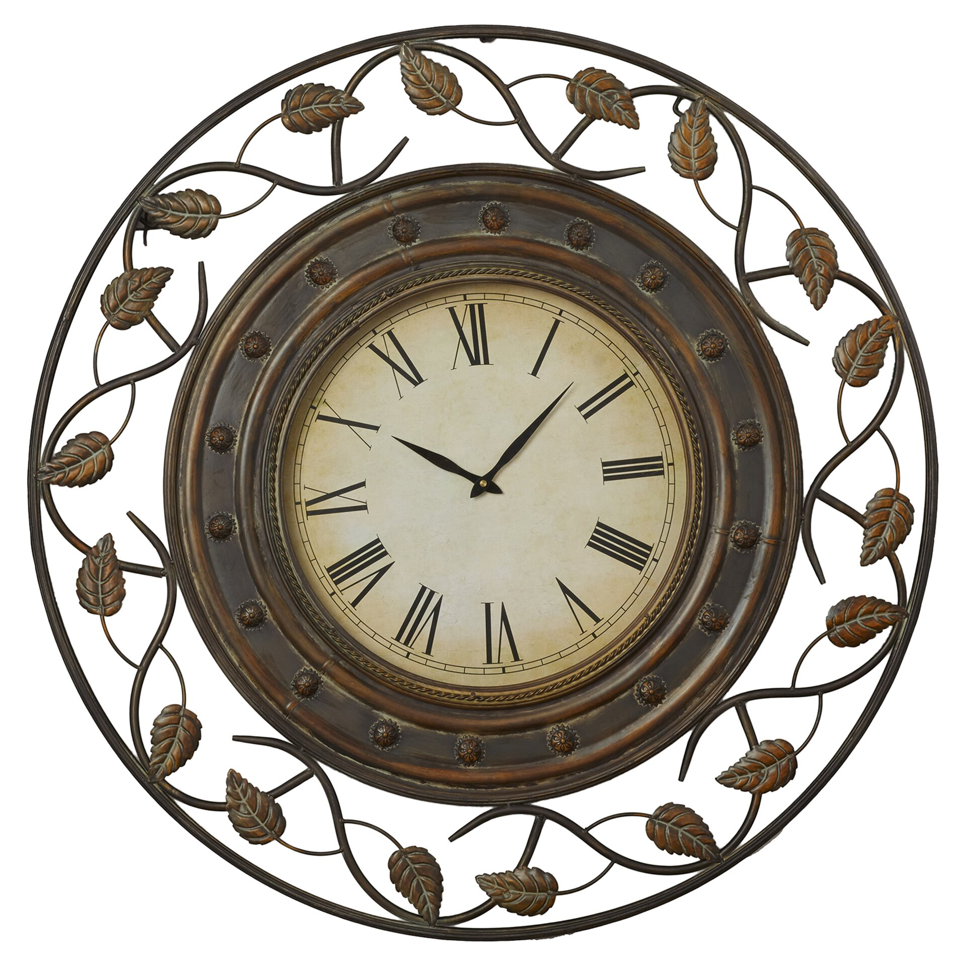 Decorative Wall Clock Model : Darby home co cleffort quot decorative wall clock reviews
