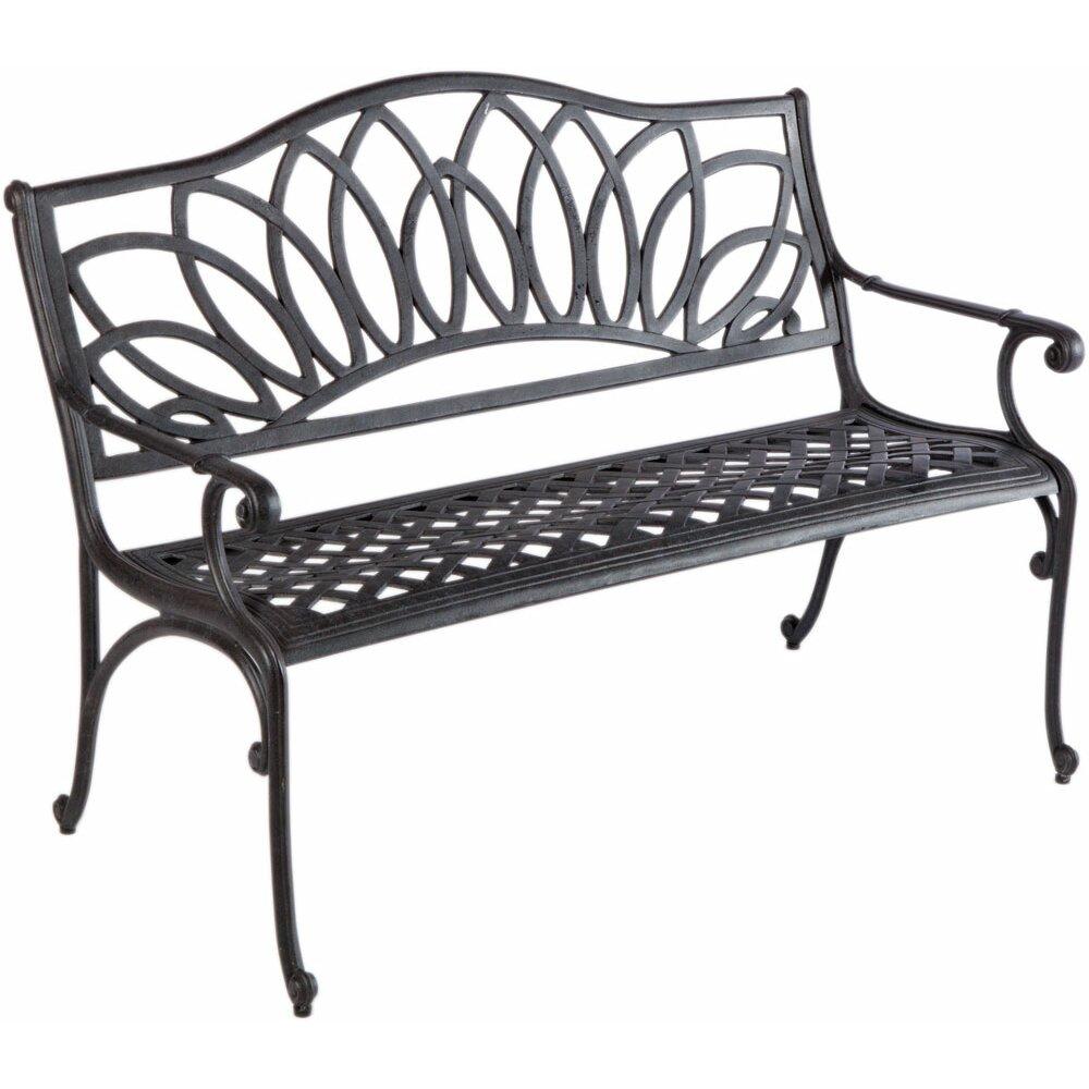 Darby Home Co Mackey Aluminum Garden Bench Reviews Wayfair