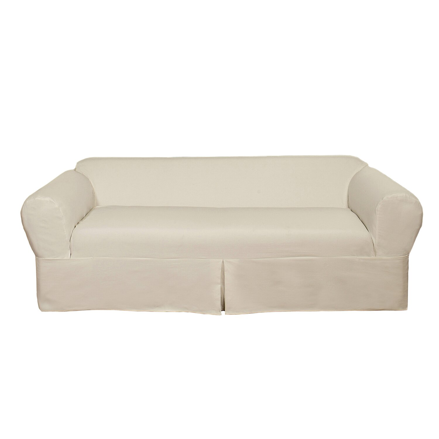 Darby Home Co Brushed Twill Sofa Slipcover amp Reviews Wayfair :  from www.wayfair.com size 1500 x 1500 jpeg 112kB