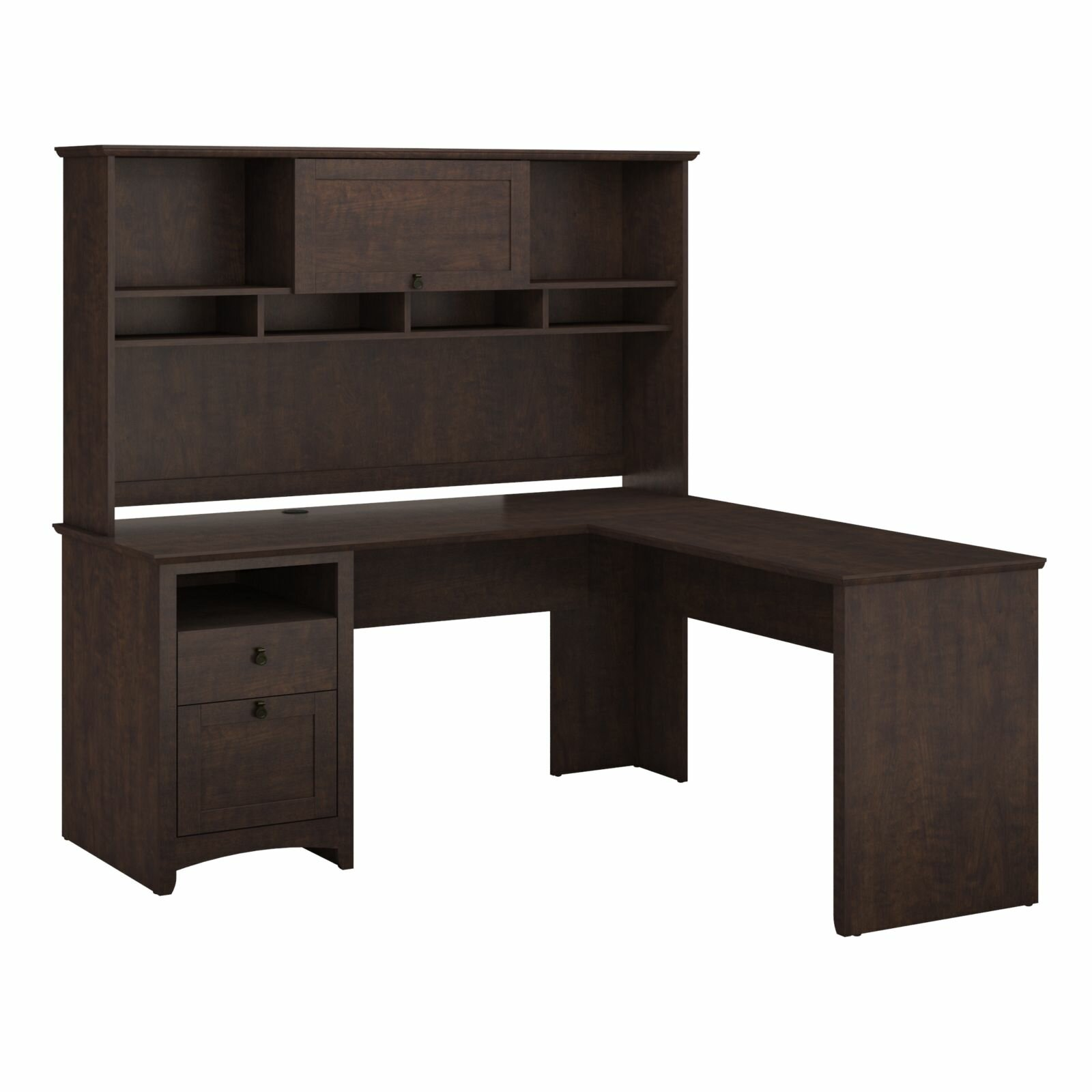 Darby Home Co Egger Computer Desk With Hutch Reviews