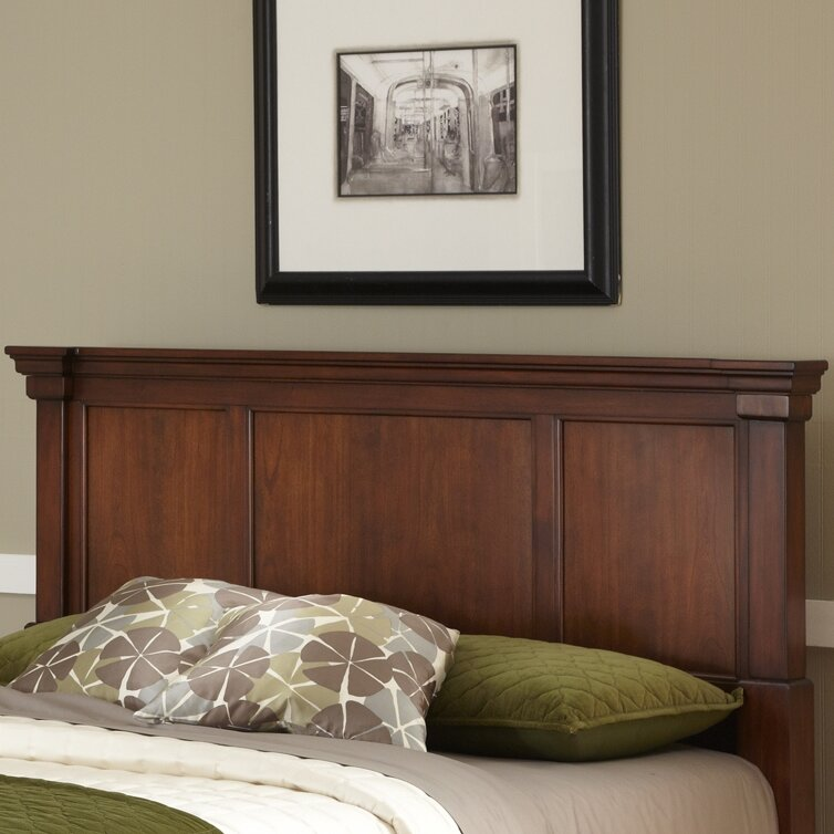 Shop Home Styles Aspen Rustic Cherry King Bedroom Set At: Darby Home Co Cargile Wood Headboard & Reviews