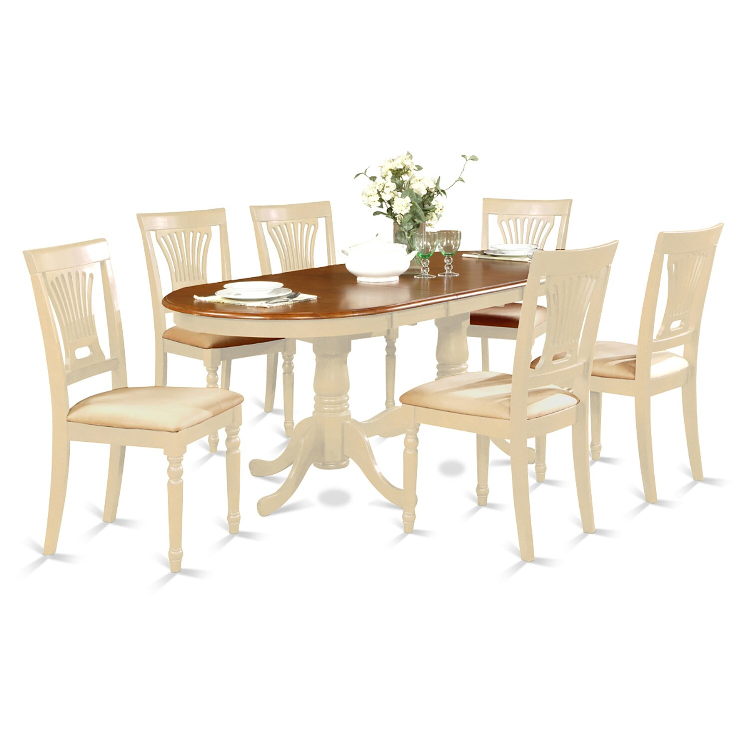 Darby home co germantown 7 piece dining set reviews for 7 piece dining set