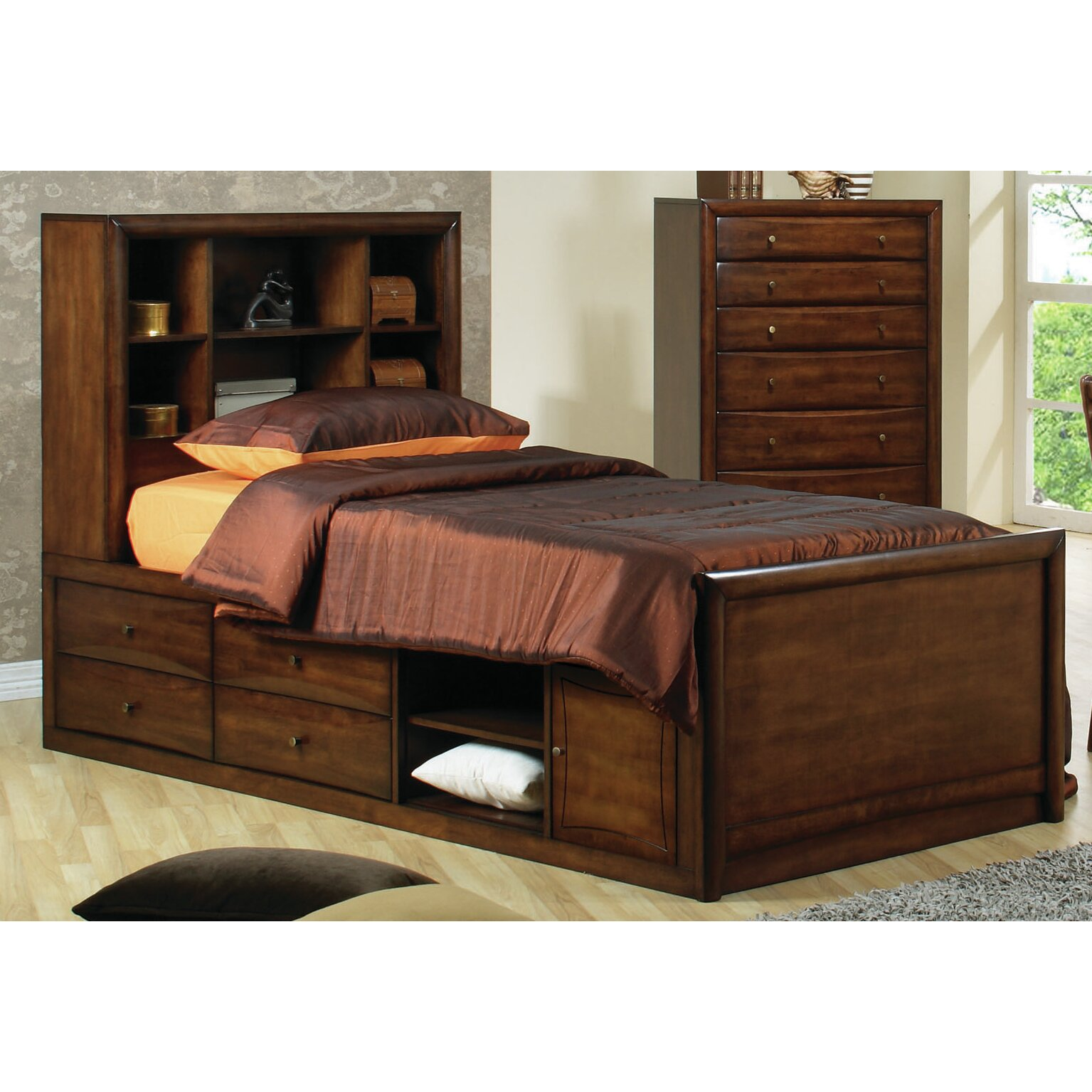 Darby Home Co Panel Customizable Bedroom Set & Reviews
