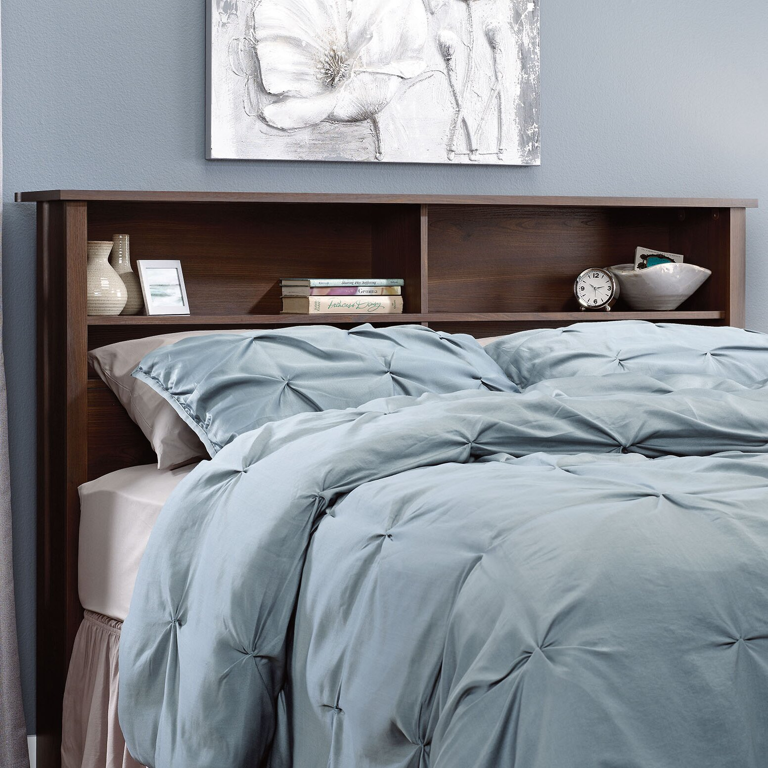 Darby Home Co Coombs Full/Queen Wood Bookcase Headboard