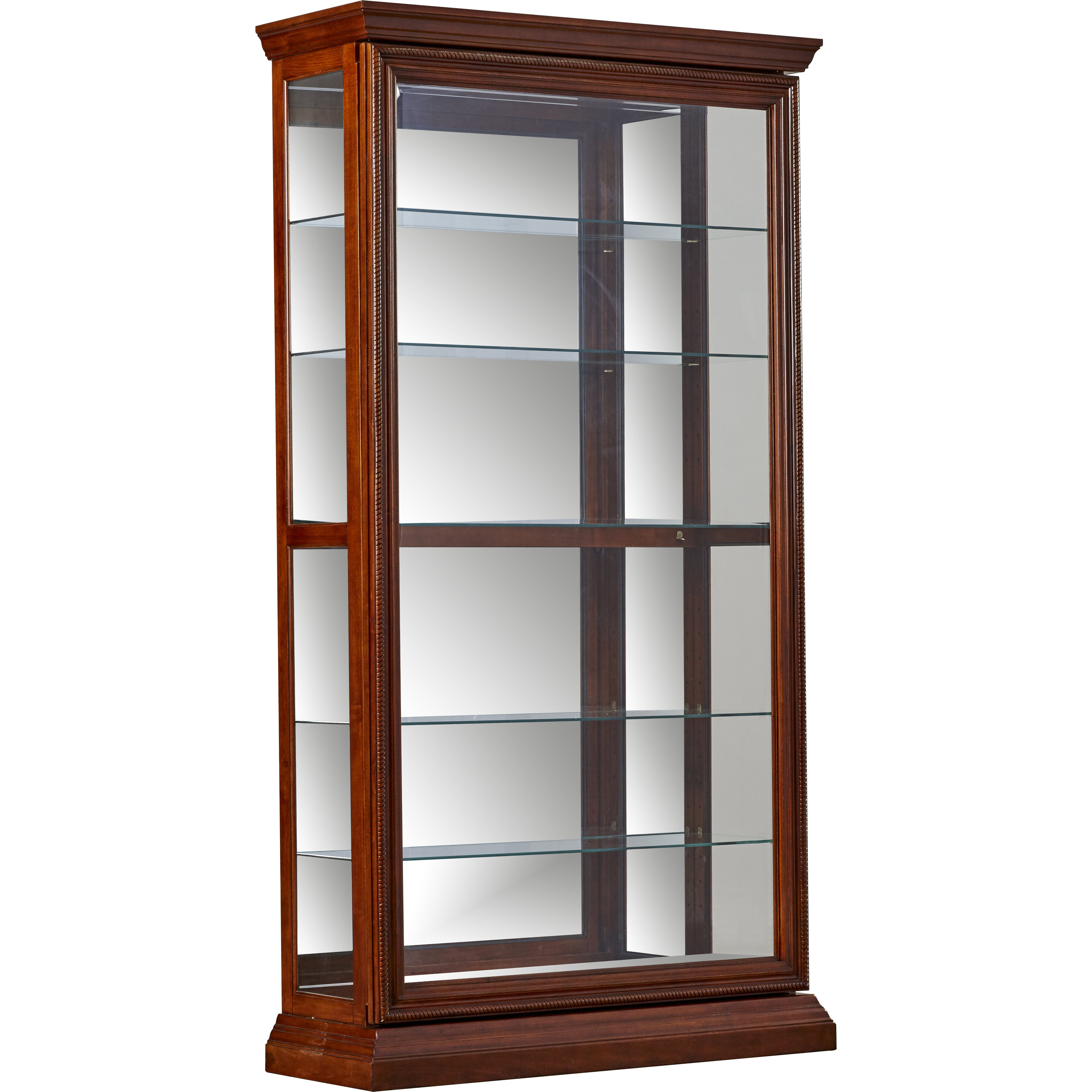 Darby Home Co Purvoche Curio Cabinet Amp Reviews Wayfair Ca