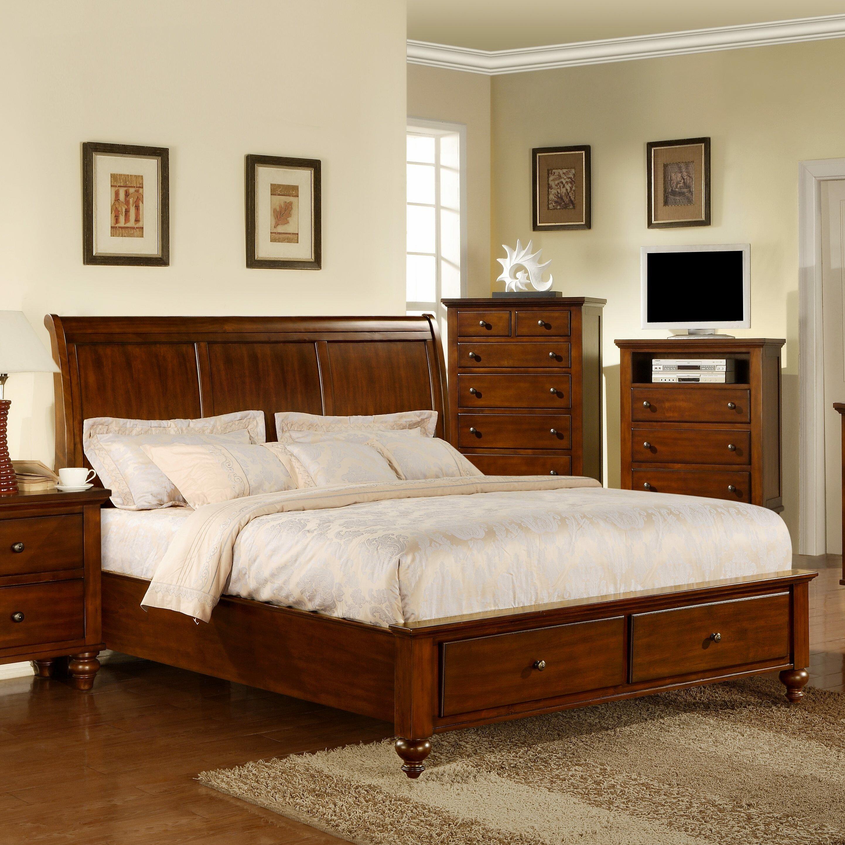 darby home co lilian platform customizable bedroom set reviews wayfair
