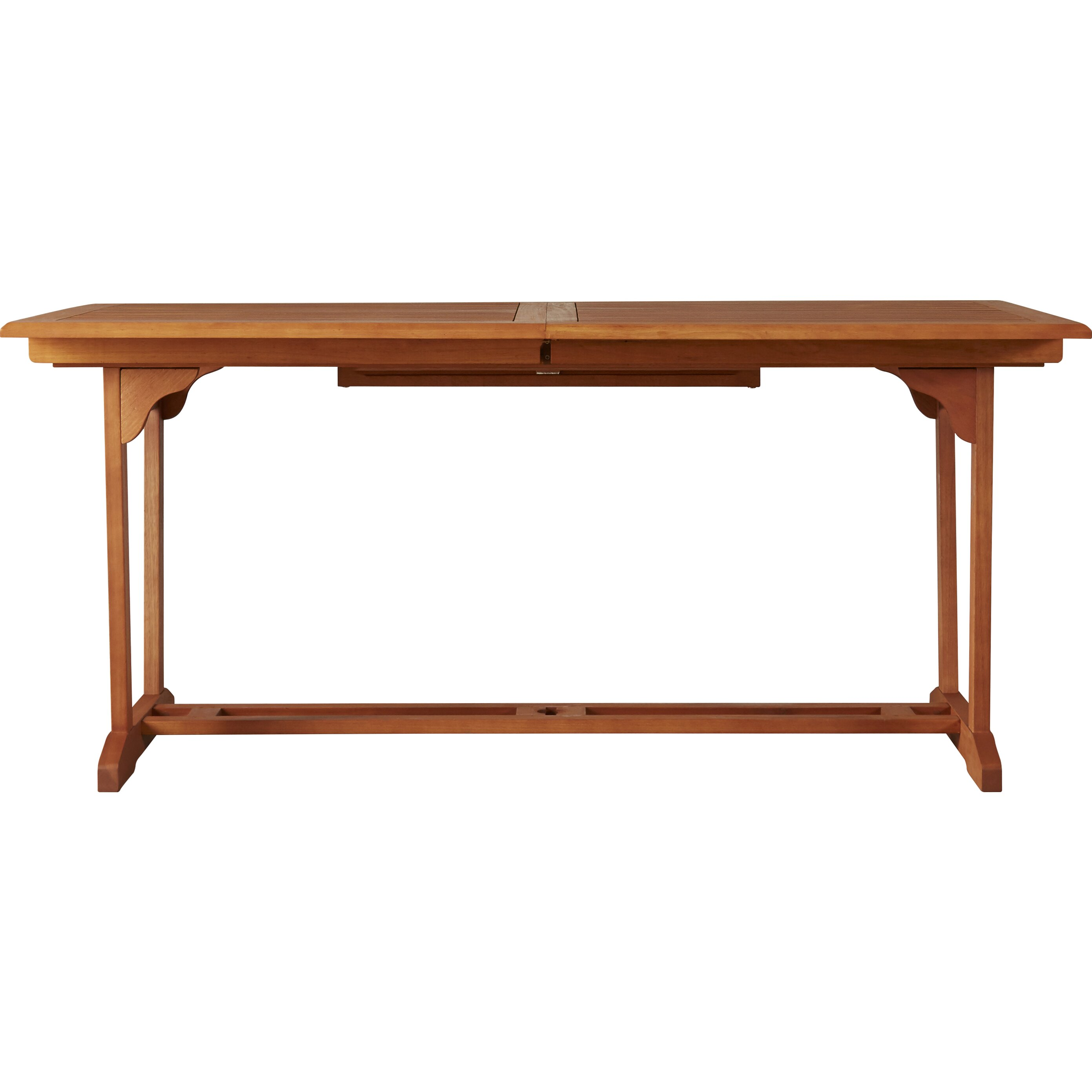 darby home co goolsby rectangular extension dining table