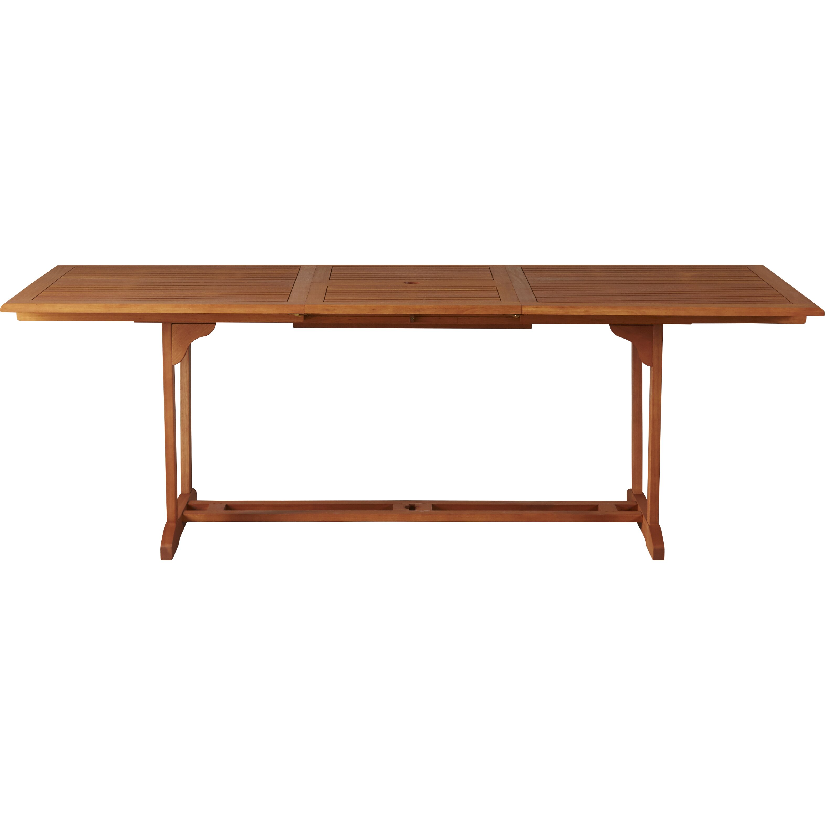 Darby home co goolsby rectangular extension dining table for Wayfair dining table