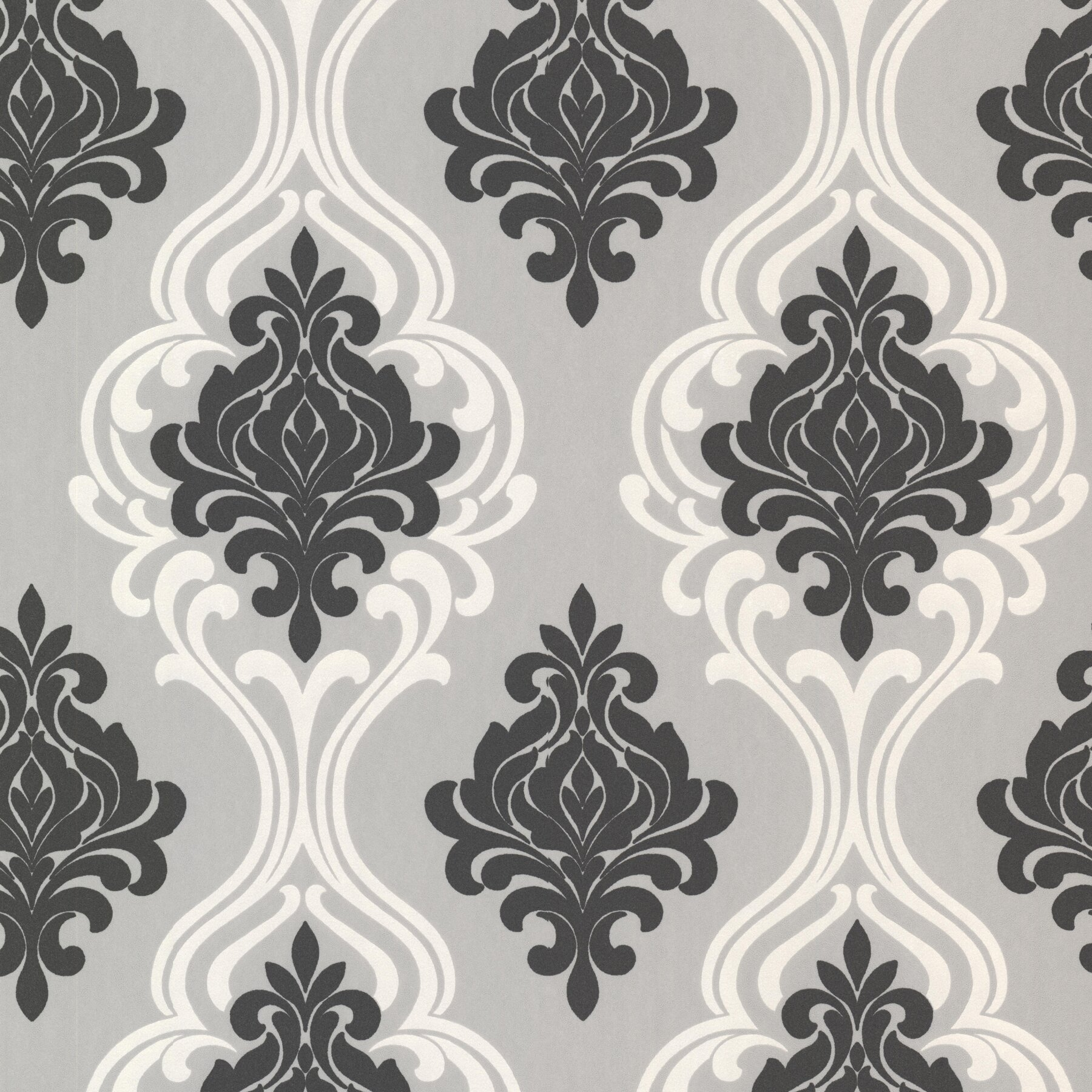 Darby home co westhope indiana 33 39 x 20 5 damask 3d for 3d embossed wallpaper