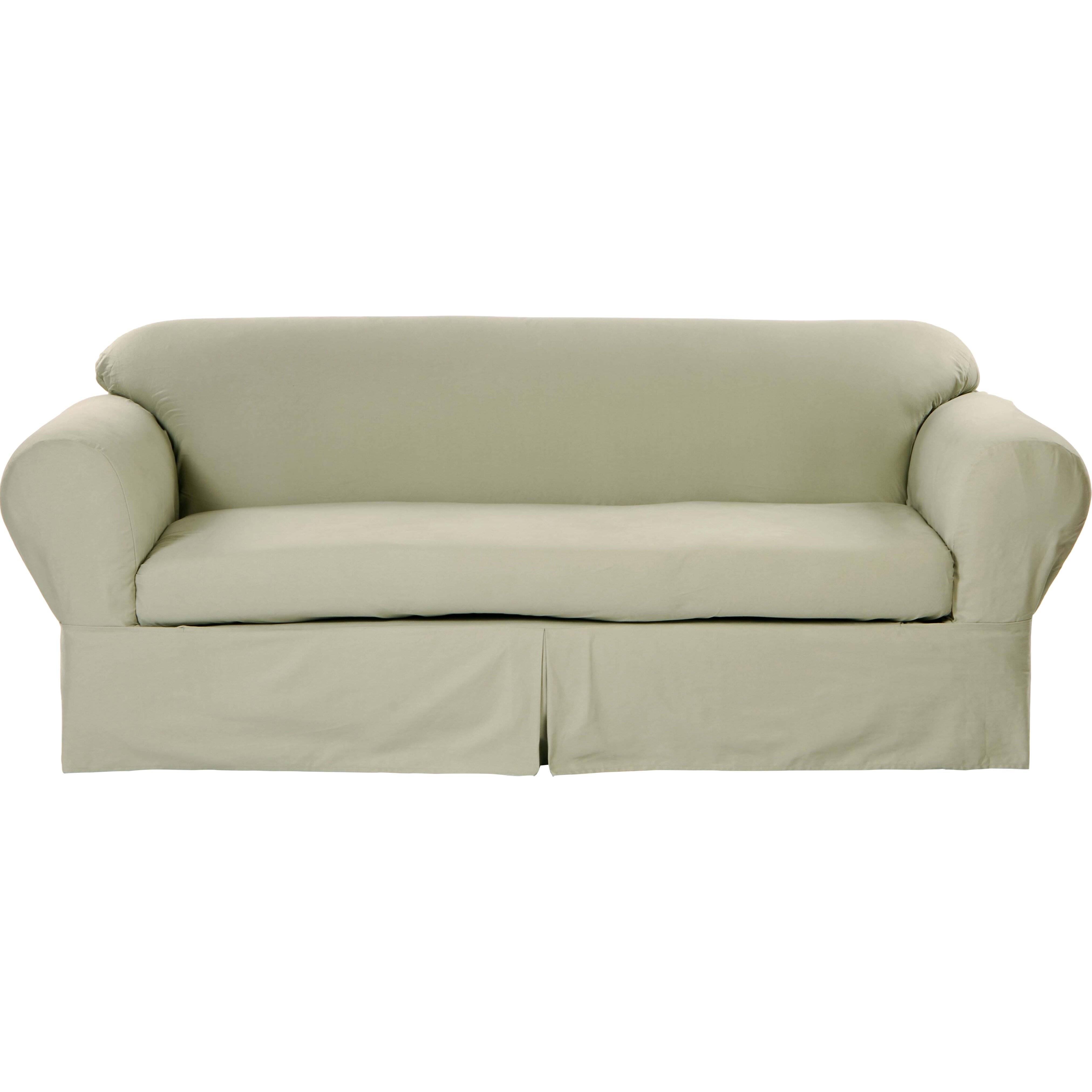 Classic slipcovers brushed twill loveseat slipcover reviews wayfair Loveseat slipcover