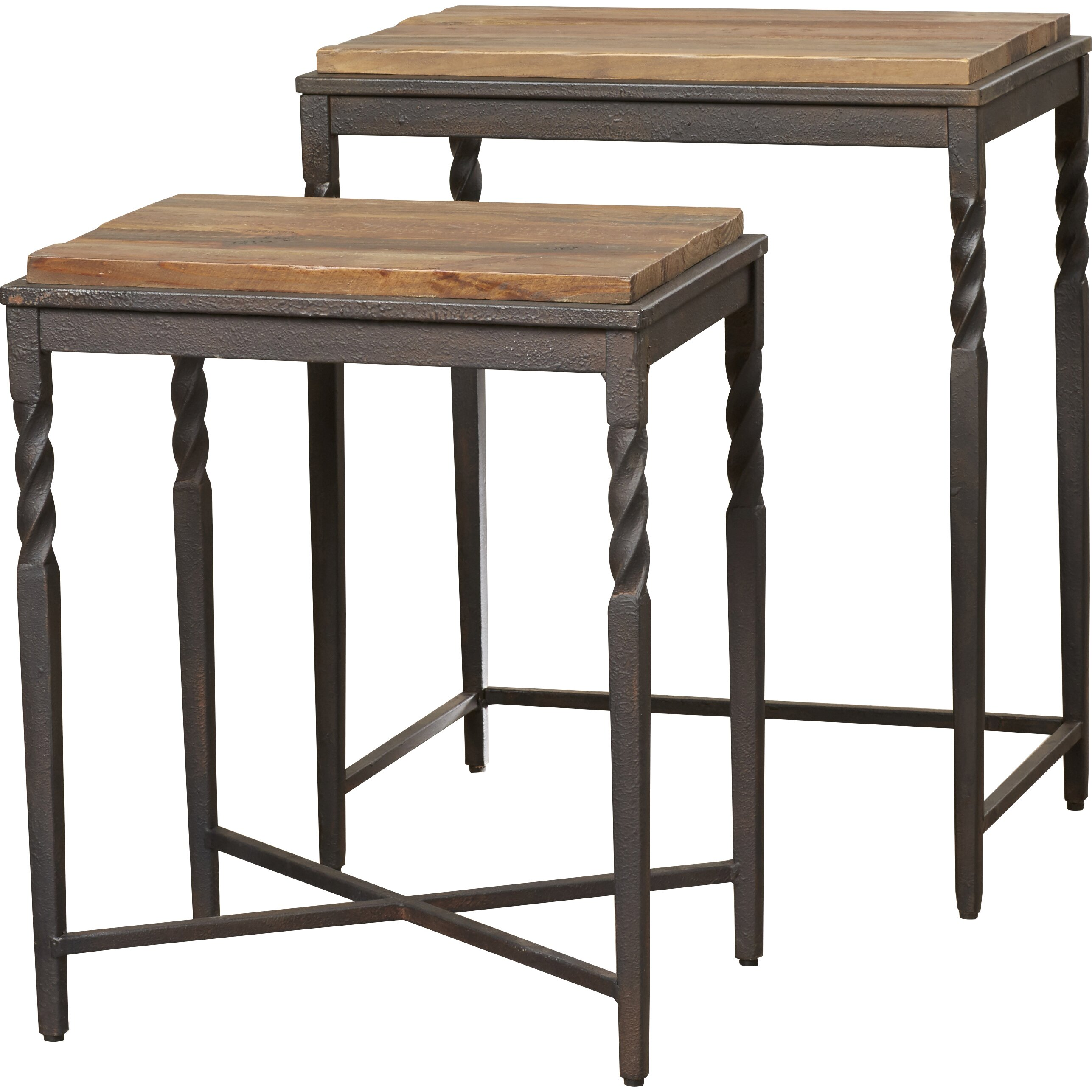 Darby Home Co 2 Piece Nesting Tables & Reviews | Wayfair