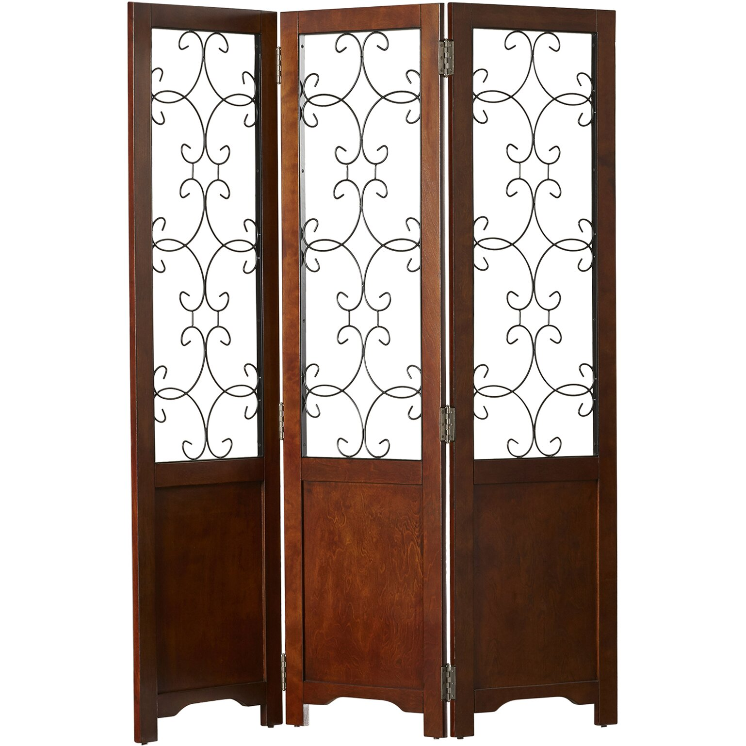 Darby Home Co 68 25 Quot X 56 13 Quot Reece Scroll 3 Panel Room
