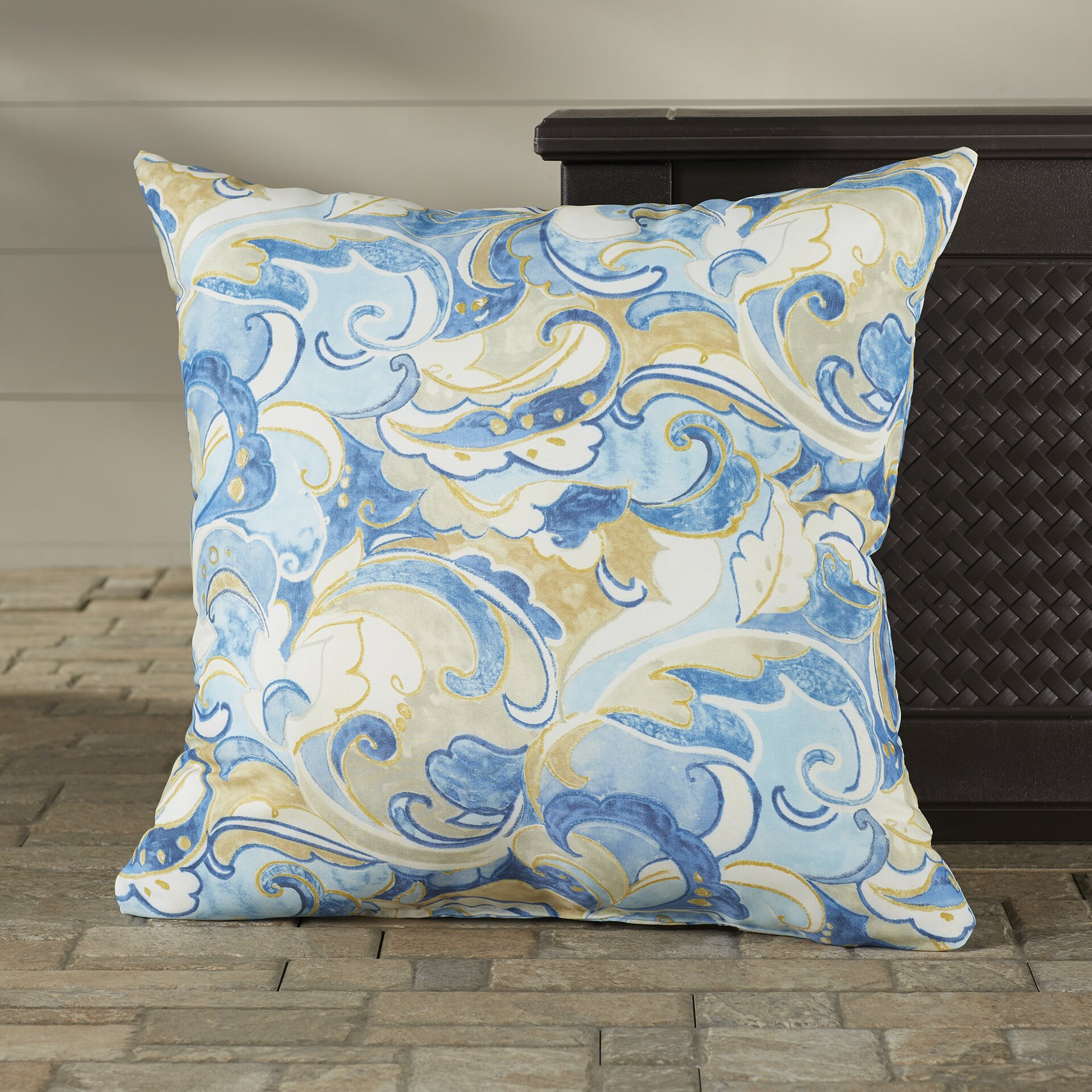 Latitude Run Betty Indoor/Outdoor Floor Pillow Wayfair