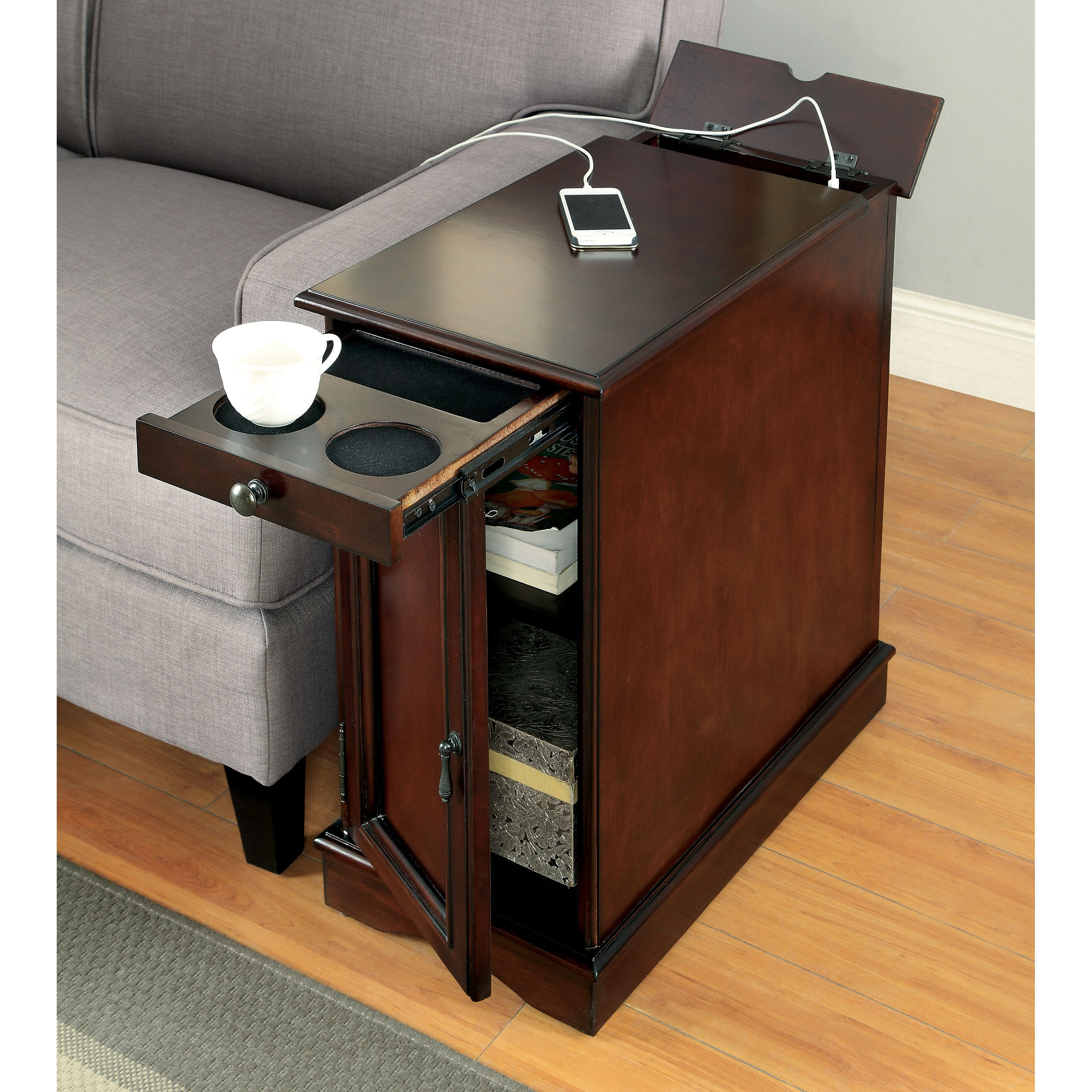 Darby Home Co Kipling End Table amp Reviews Wayfair