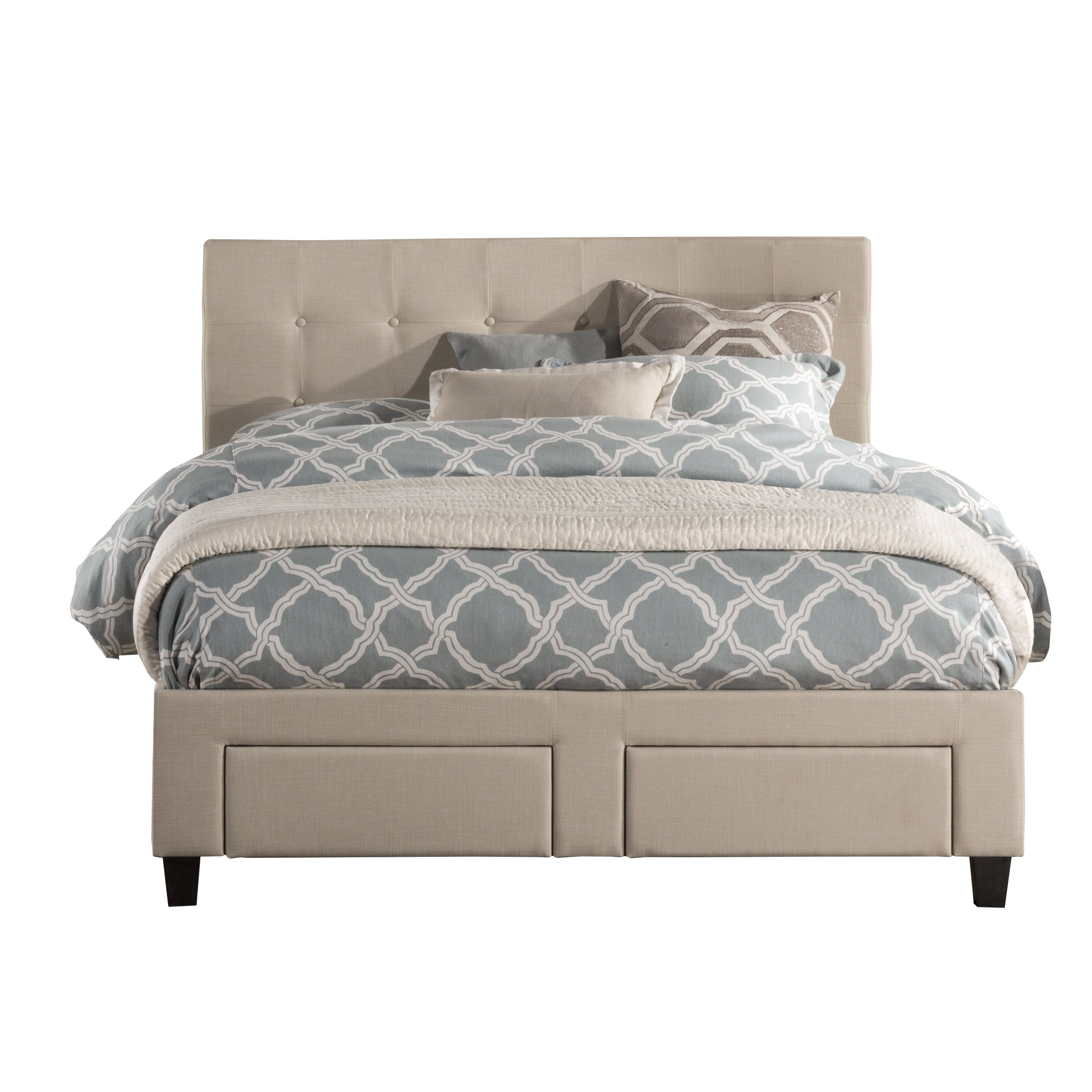 Darby Home Co Hayton Upholstered Storage Platform Bed