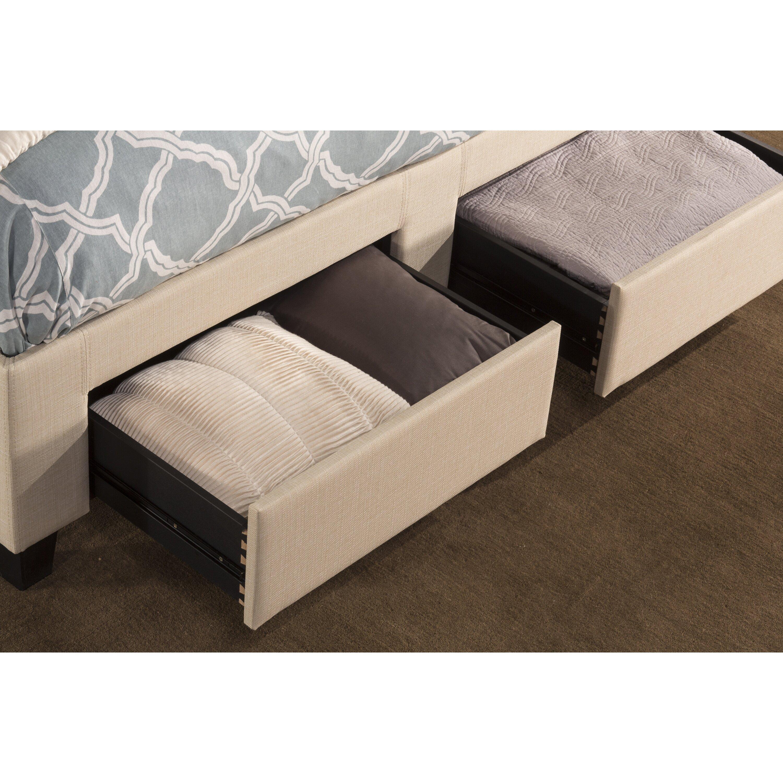 Darby Home Co Hayton Upholstered Storage Platform Bed