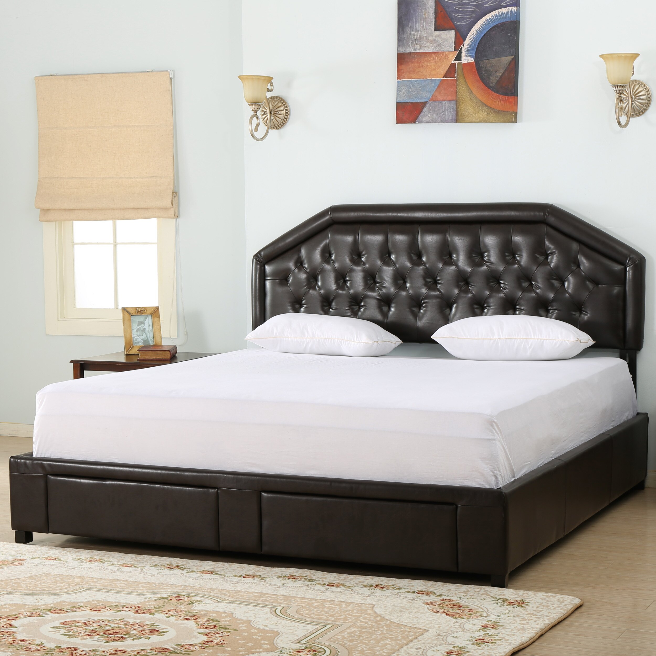 Darby Home Co Beaumont Upholstered Storage Panel Bed Wayfair
