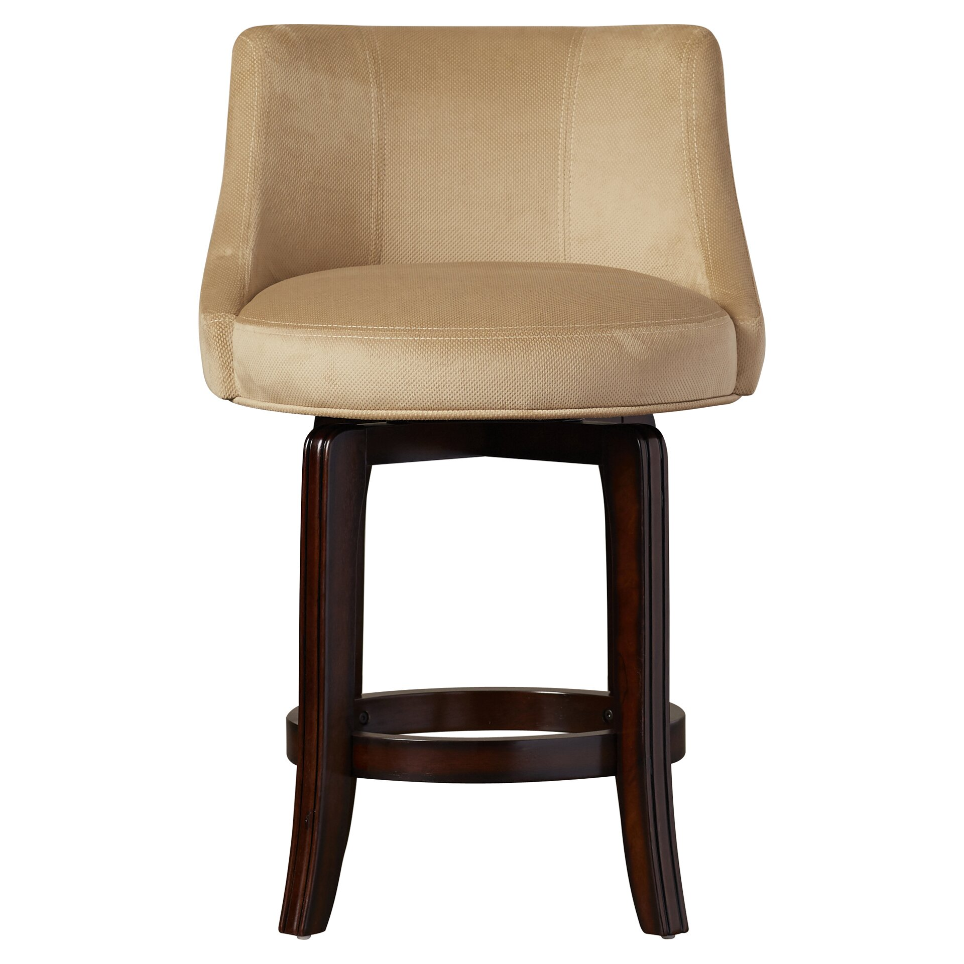 """Home Styles Arts Crafts 24 In Counter Stool: Darby Home Co Grandwood 25.25"""" Swivel Bar Stool & Reviews"""