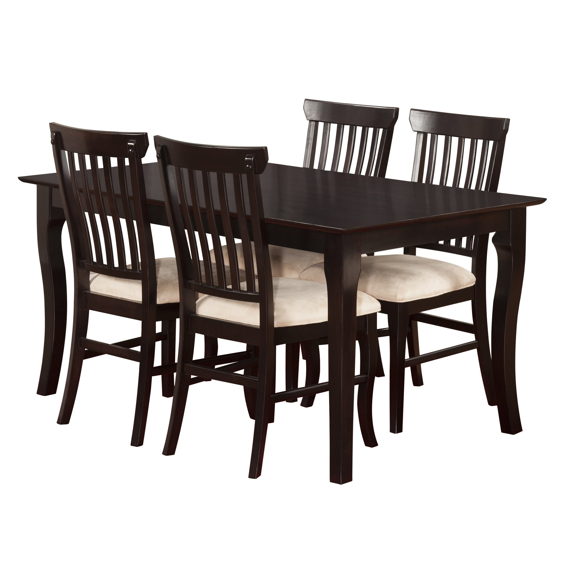 Darby home co newry 5 piece dining set reviews wayfair for 5 piece dining set