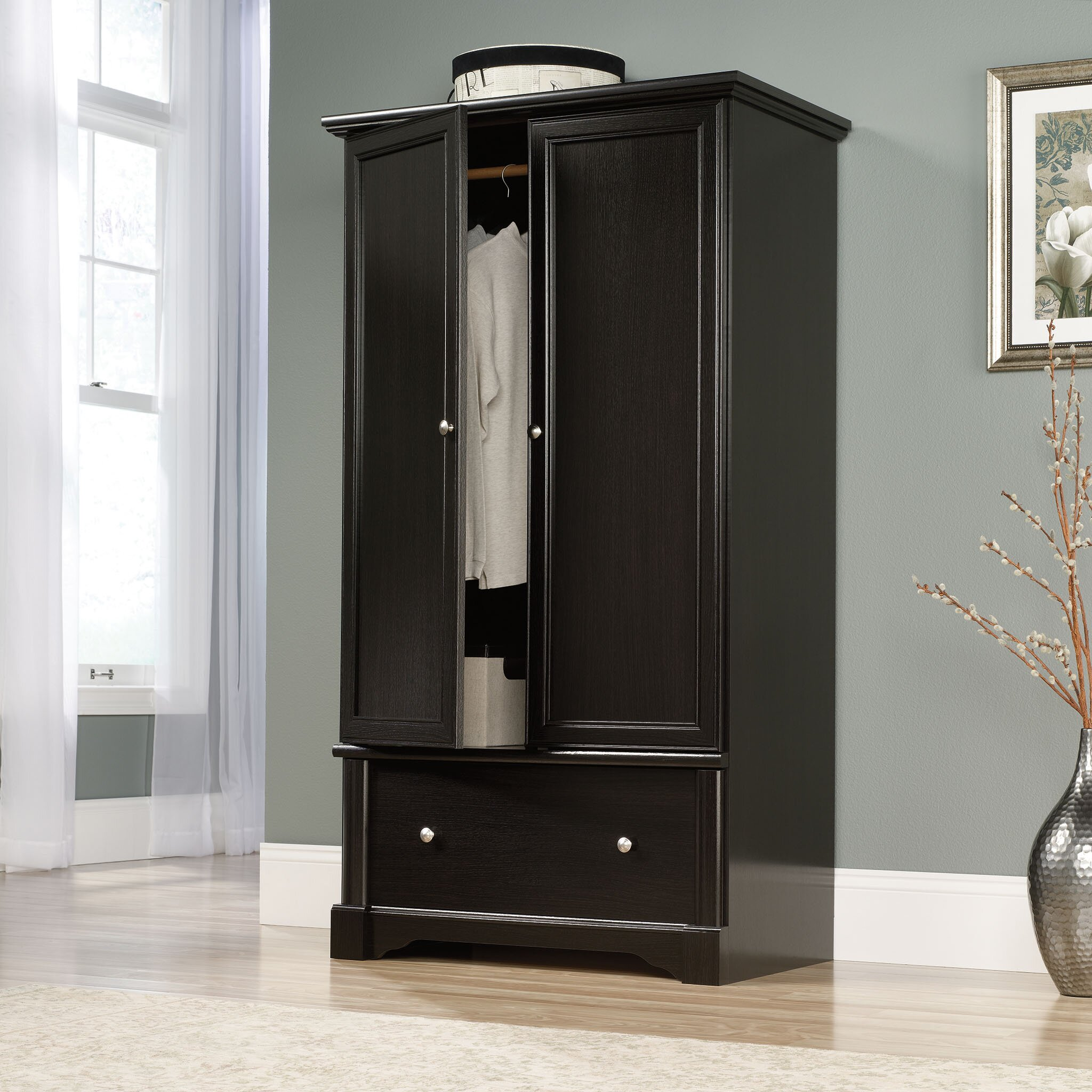 Bedroom Armoire: Darby Home Co Hennepin Armoire & Reviews
