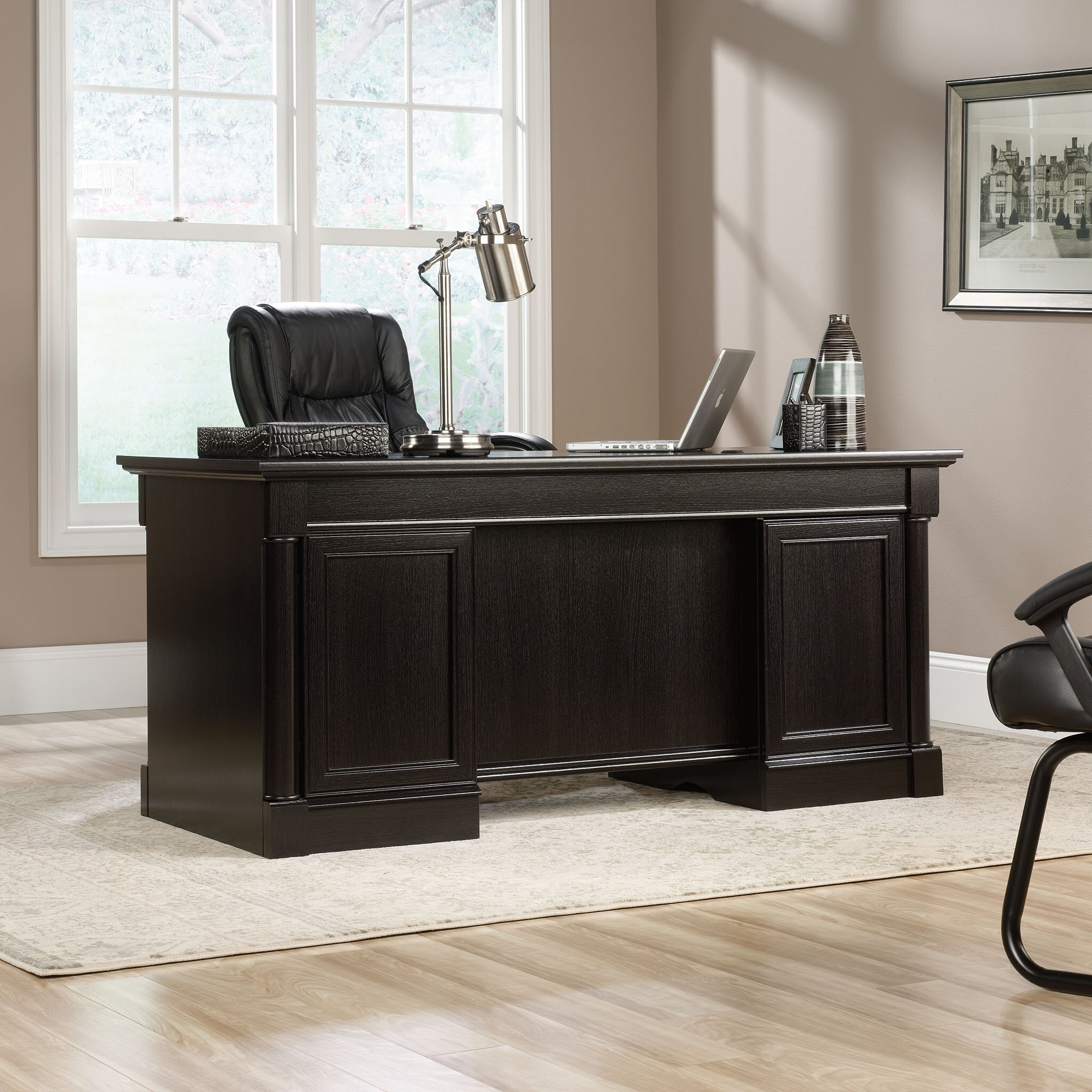 Darby Home Co Hennepin Executive Desk & Reviews