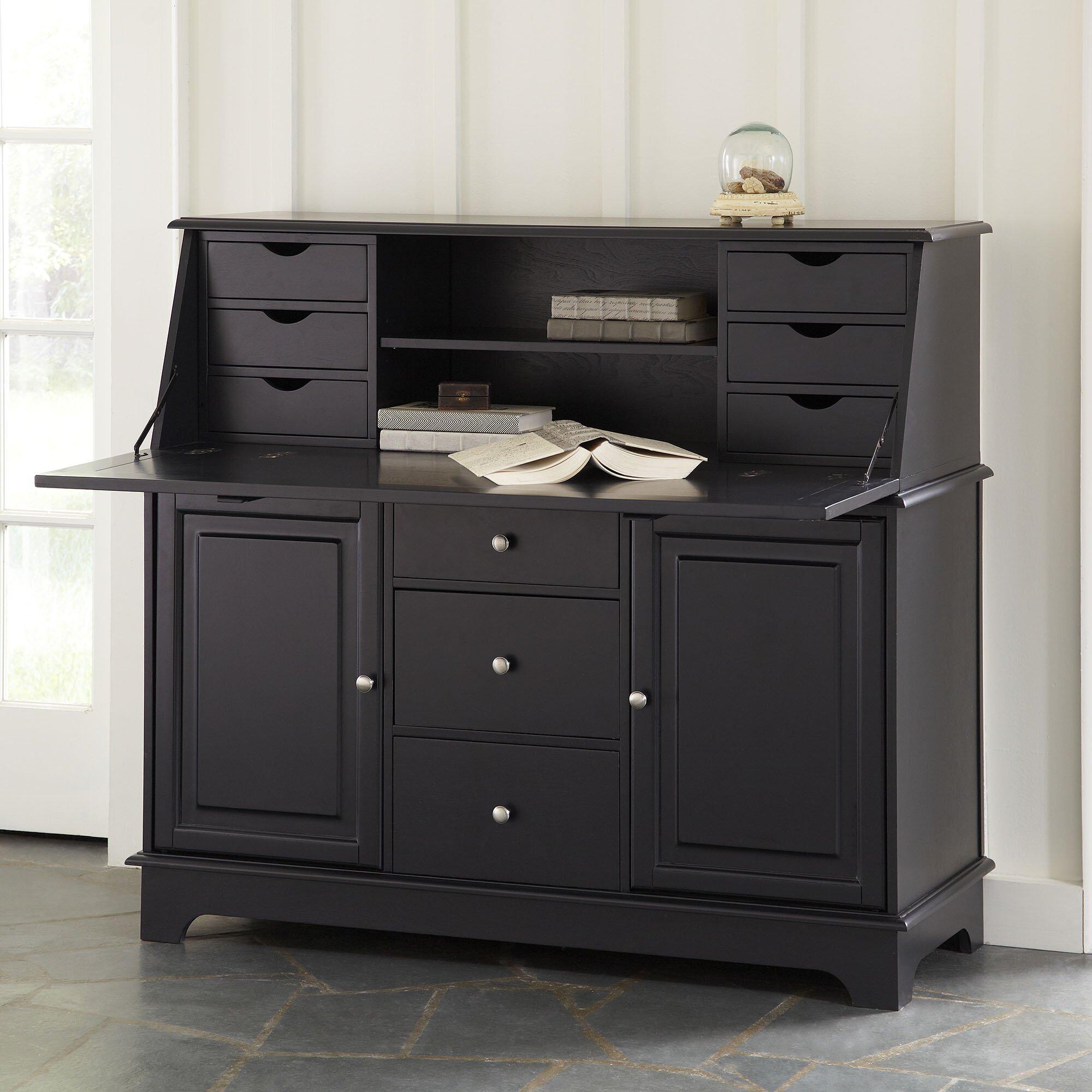 Darby Home Co Reddick Secretary Desk Amp Reviews Wayfair