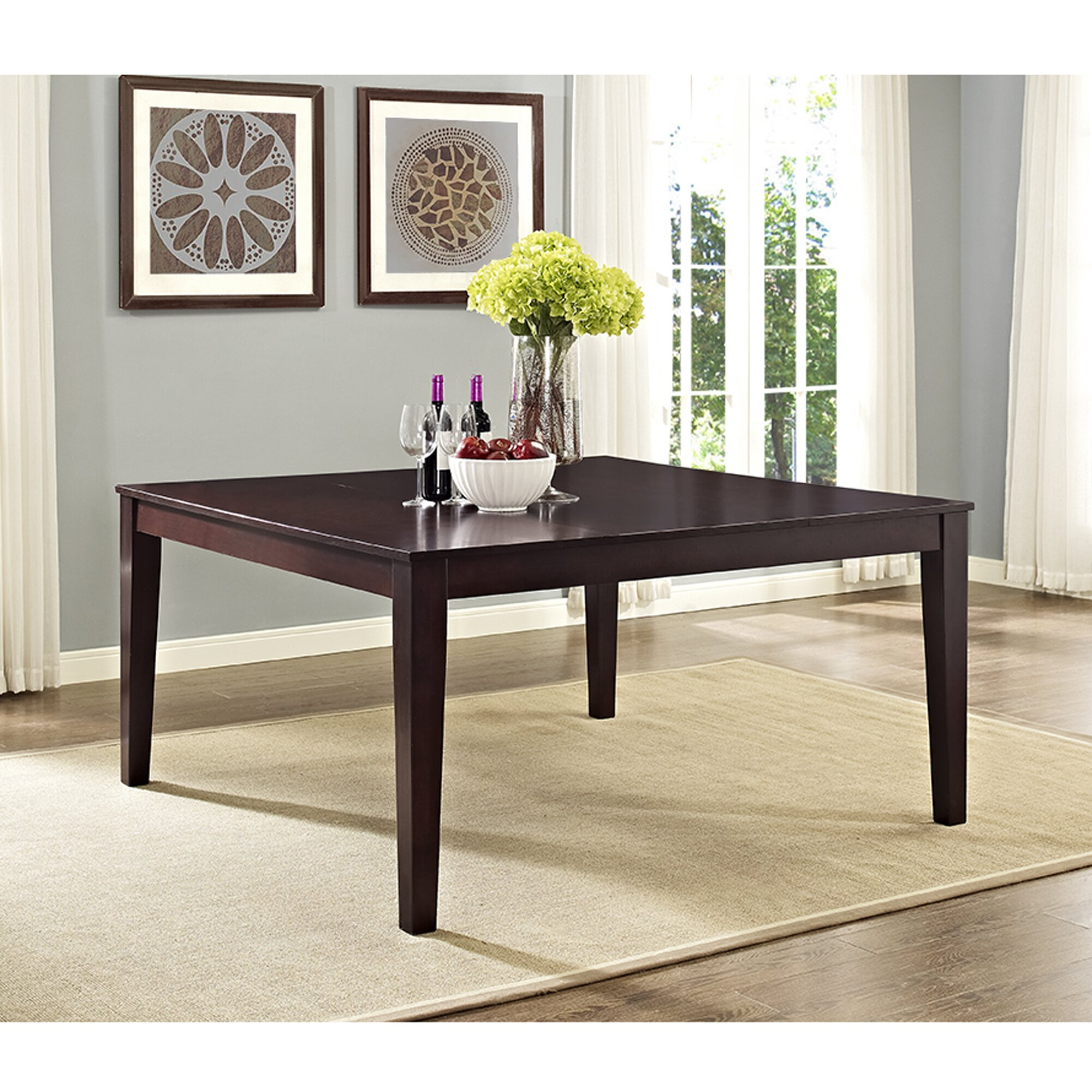 Darby Home Co Roquefort Square Dining Table Reviews