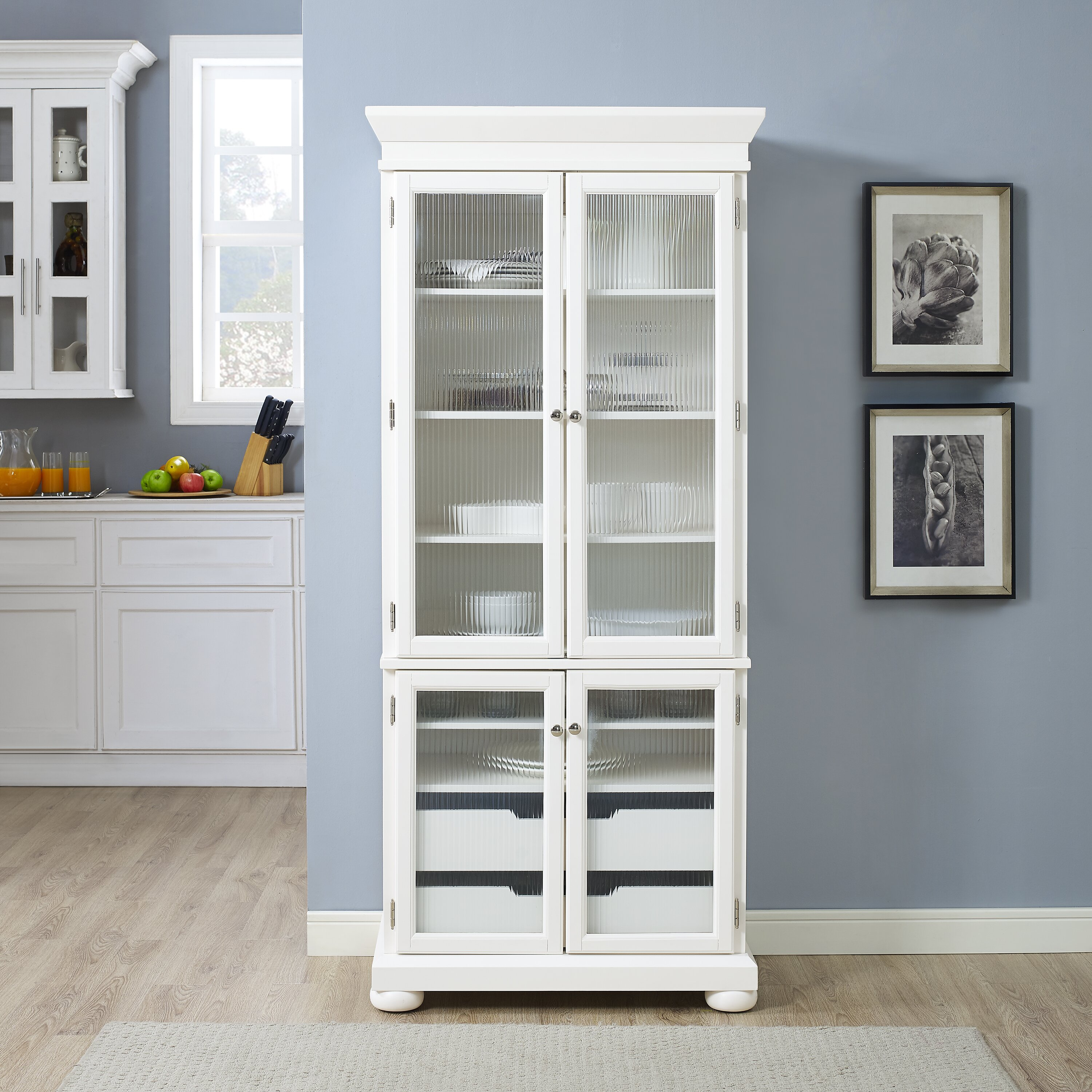 Kitchen Cabinets With Pantry: Darby Home Co Pottstown Kitchen Pantry & Reviews