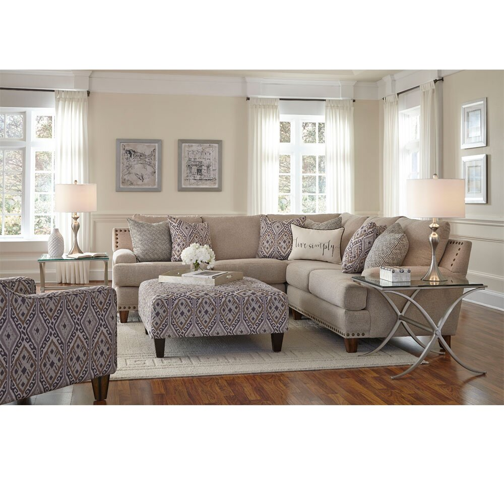 Darby Home Co Fairport Sectional Wayfair