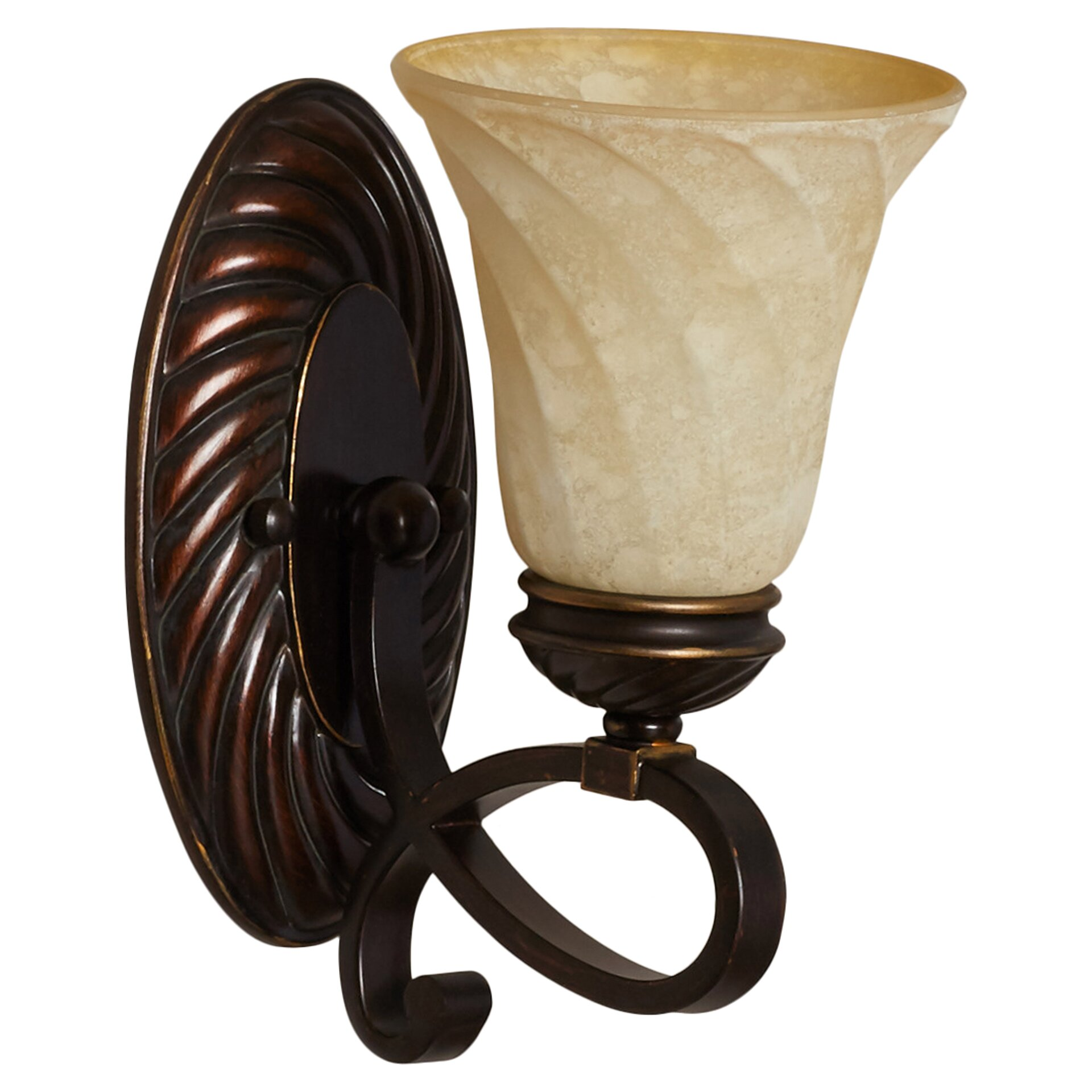 Wall Sconce With Magnifying Glass : Darby Home Co Hoopeston 1 Light Wall Sconce & Reviews Wayfair