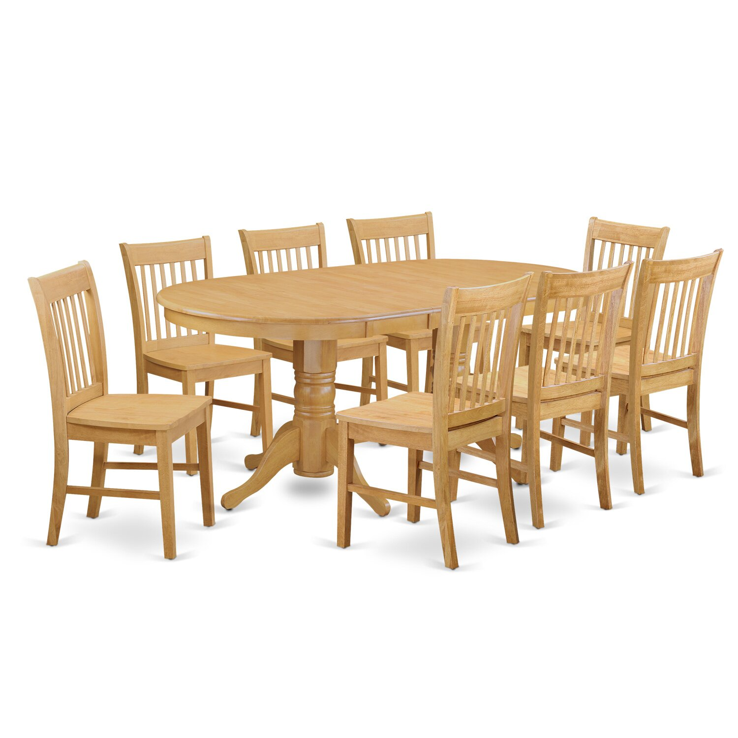 Darby home co rockdale 9 piece dining set for Signoraware organise your kitchen set 8 pieces