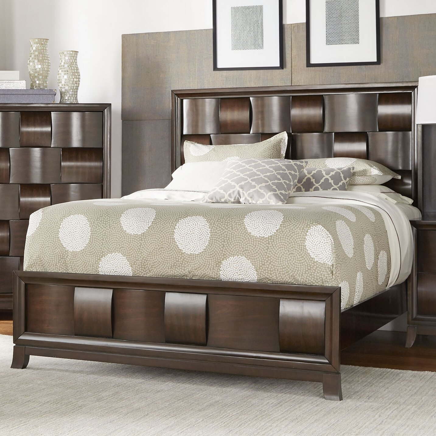 Darby Home Co Dartmouth Panel Customizable Bedroom Set