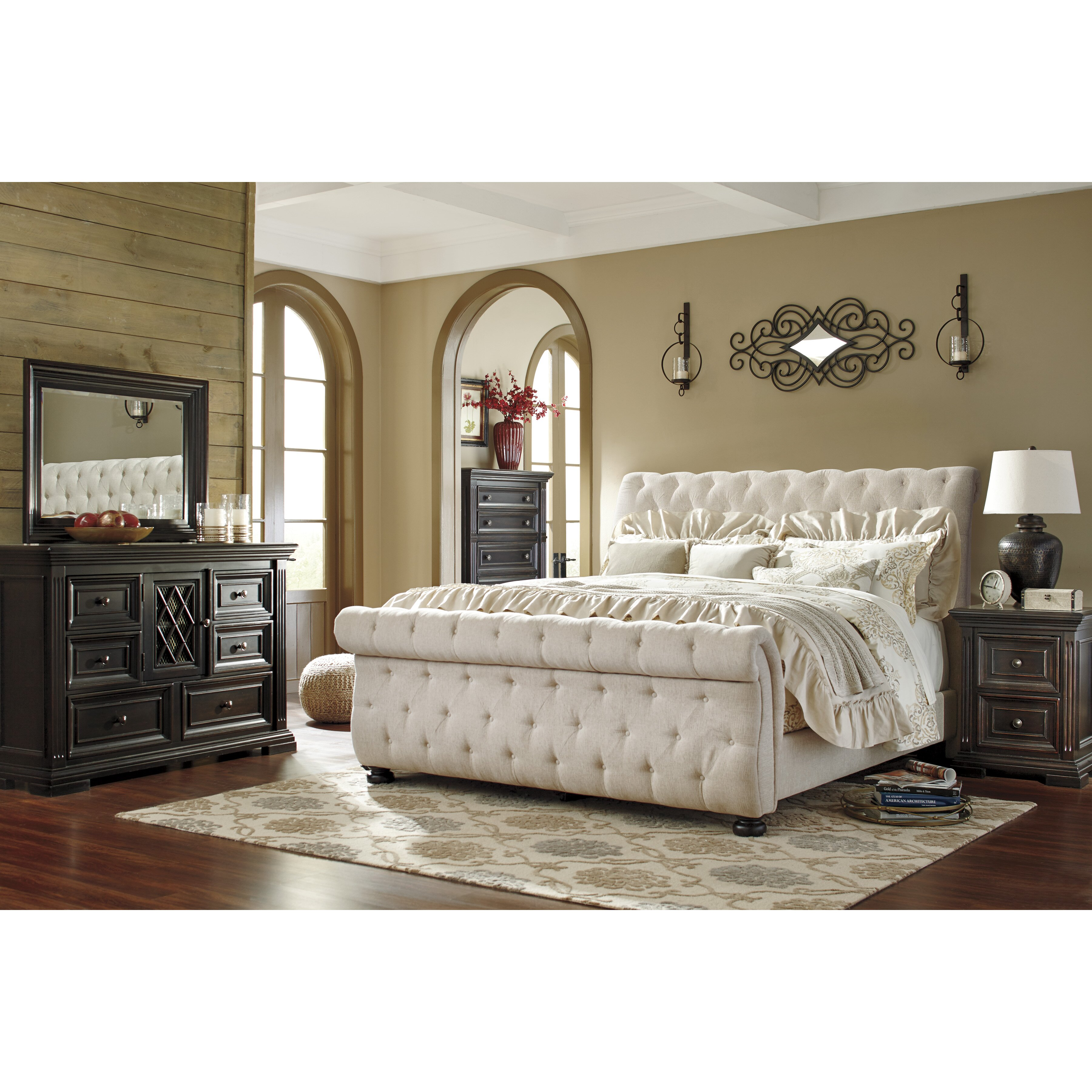 Wayfair Bedroom Furniture: Darby Home Co Althea Upholstered Sleigh Customizable