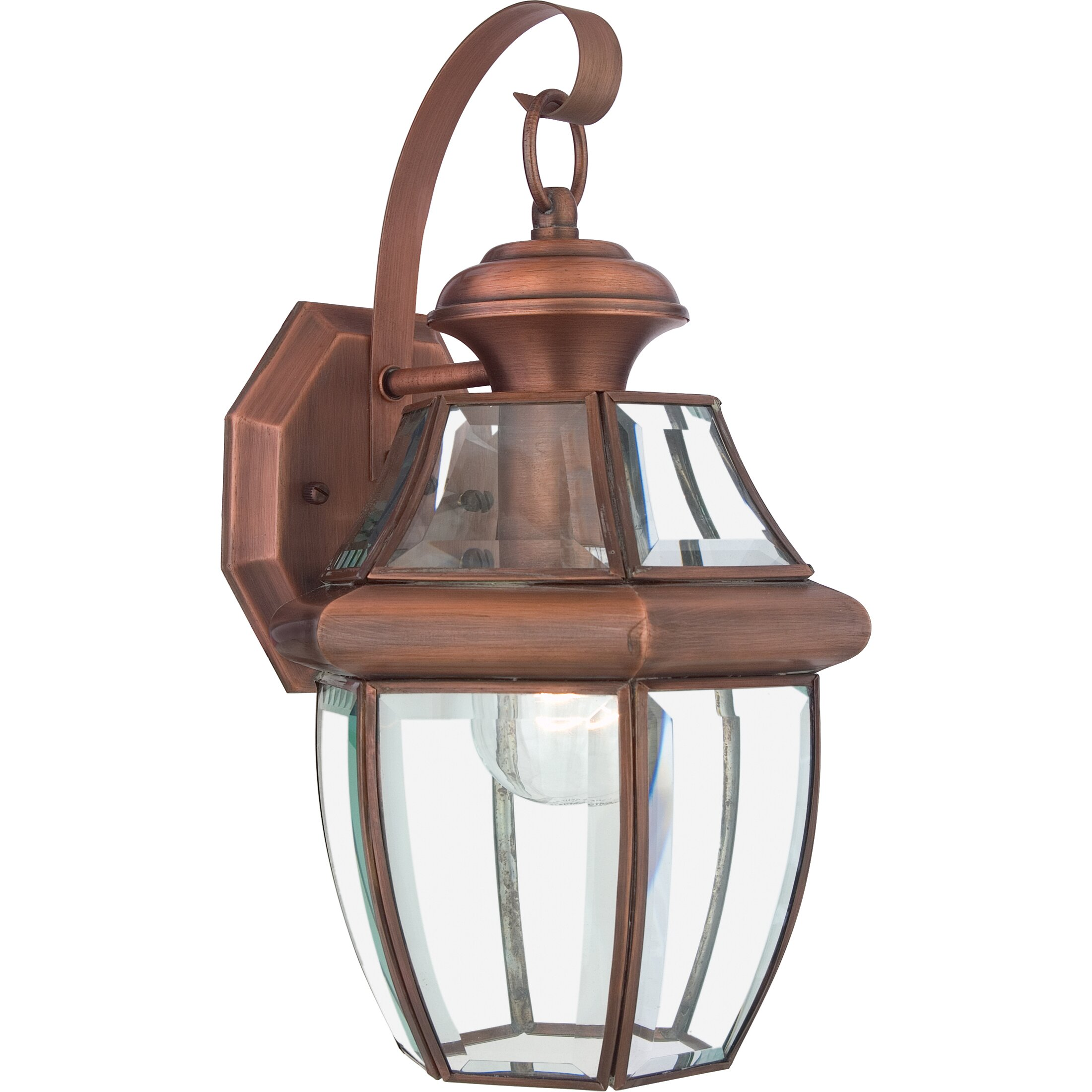 Wayfair Outdoor Wall Lights : Darby Home Co Saddler 1 Light Outdoor Wall Lantern & Reviews Wayfair