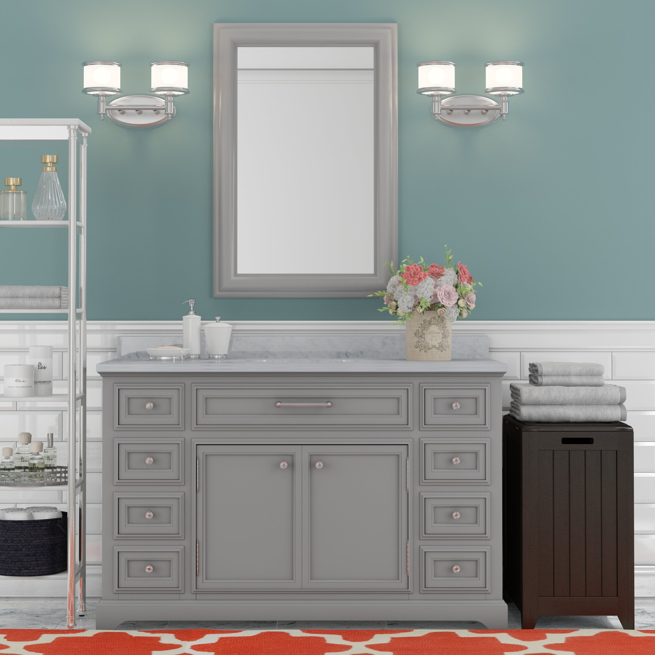 Darby Home Co Colchester 48 Quot Single Sink Bathroom Vanity