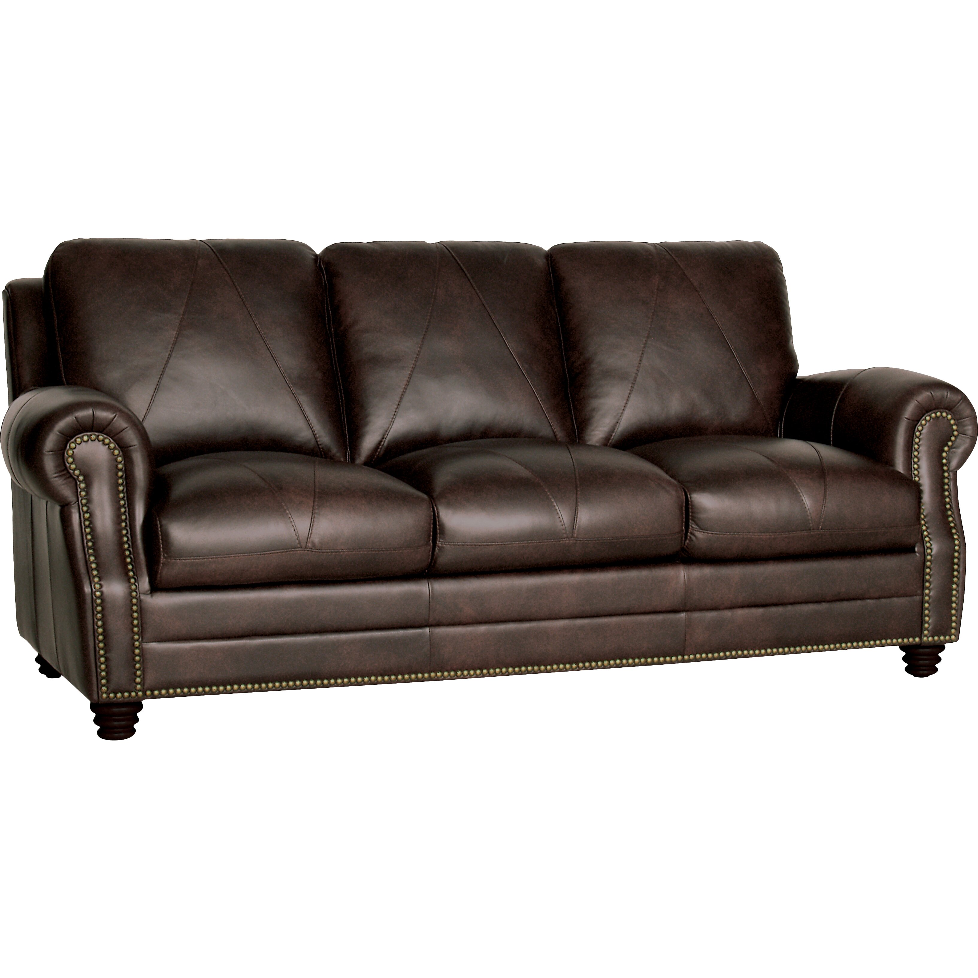 Darby home co gardner leather sofa reviews wayfair