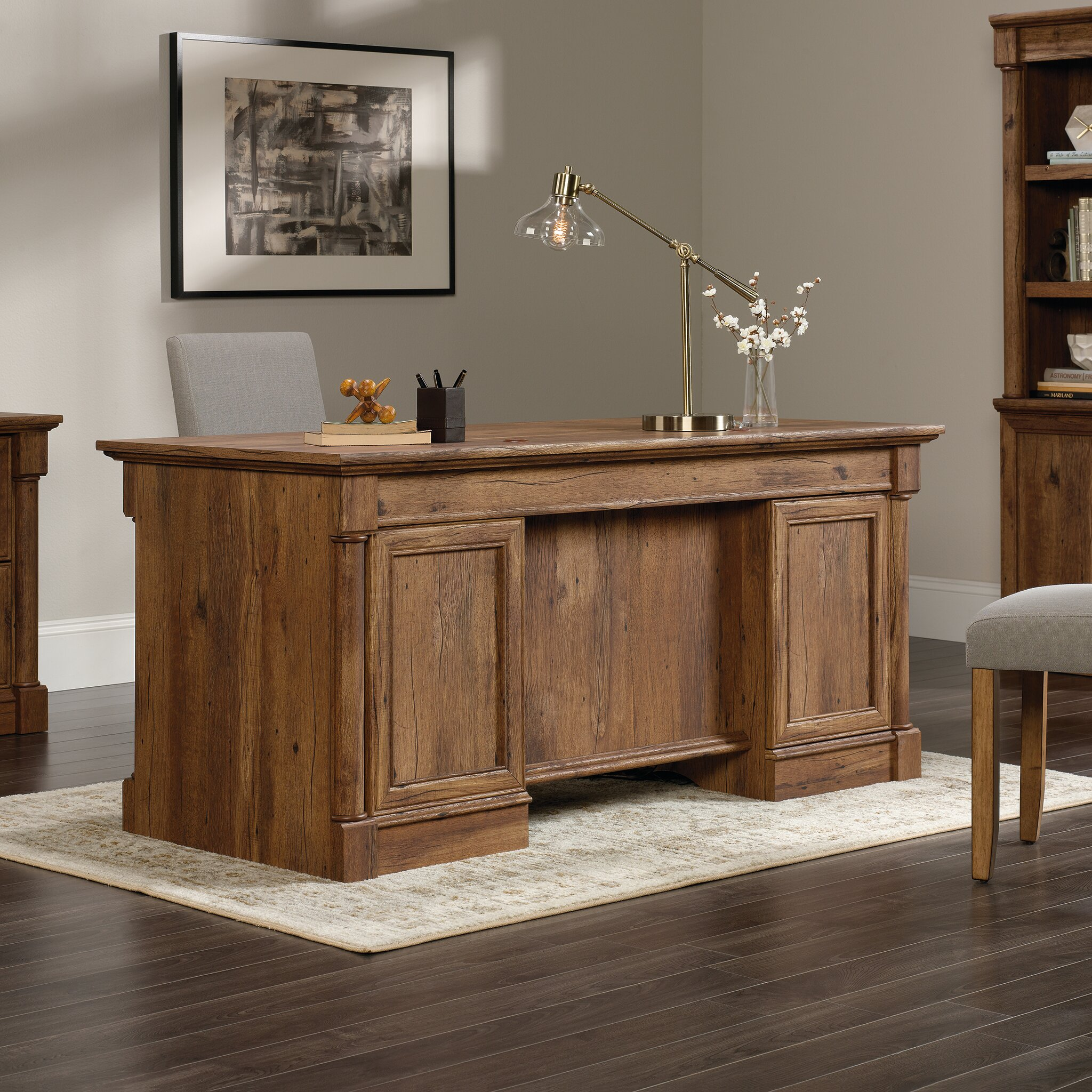 Darby Home Co Sagers Executive Desk Wayfair