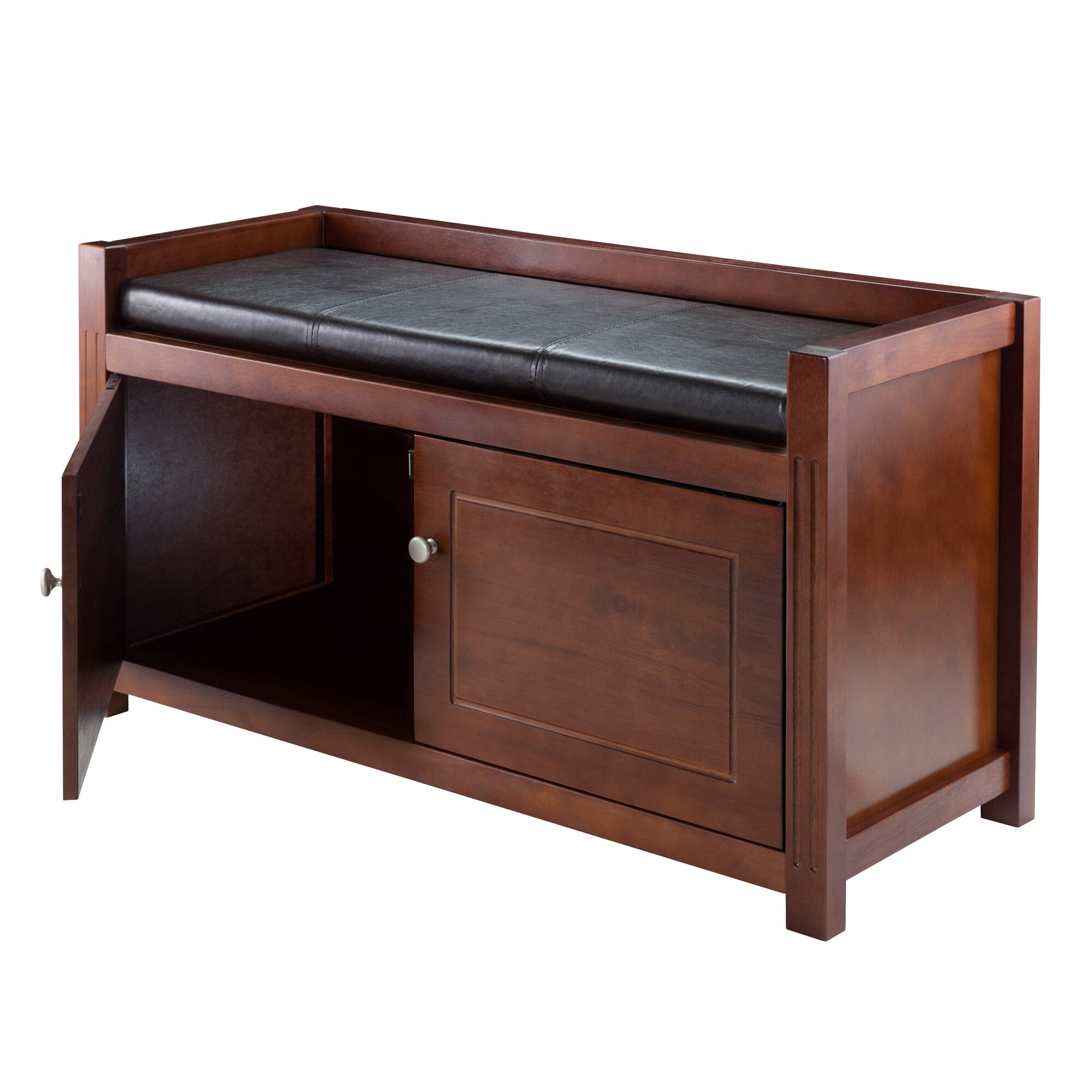 Alcott Hill Hall Wood Storage Bench Reviews Wayfair