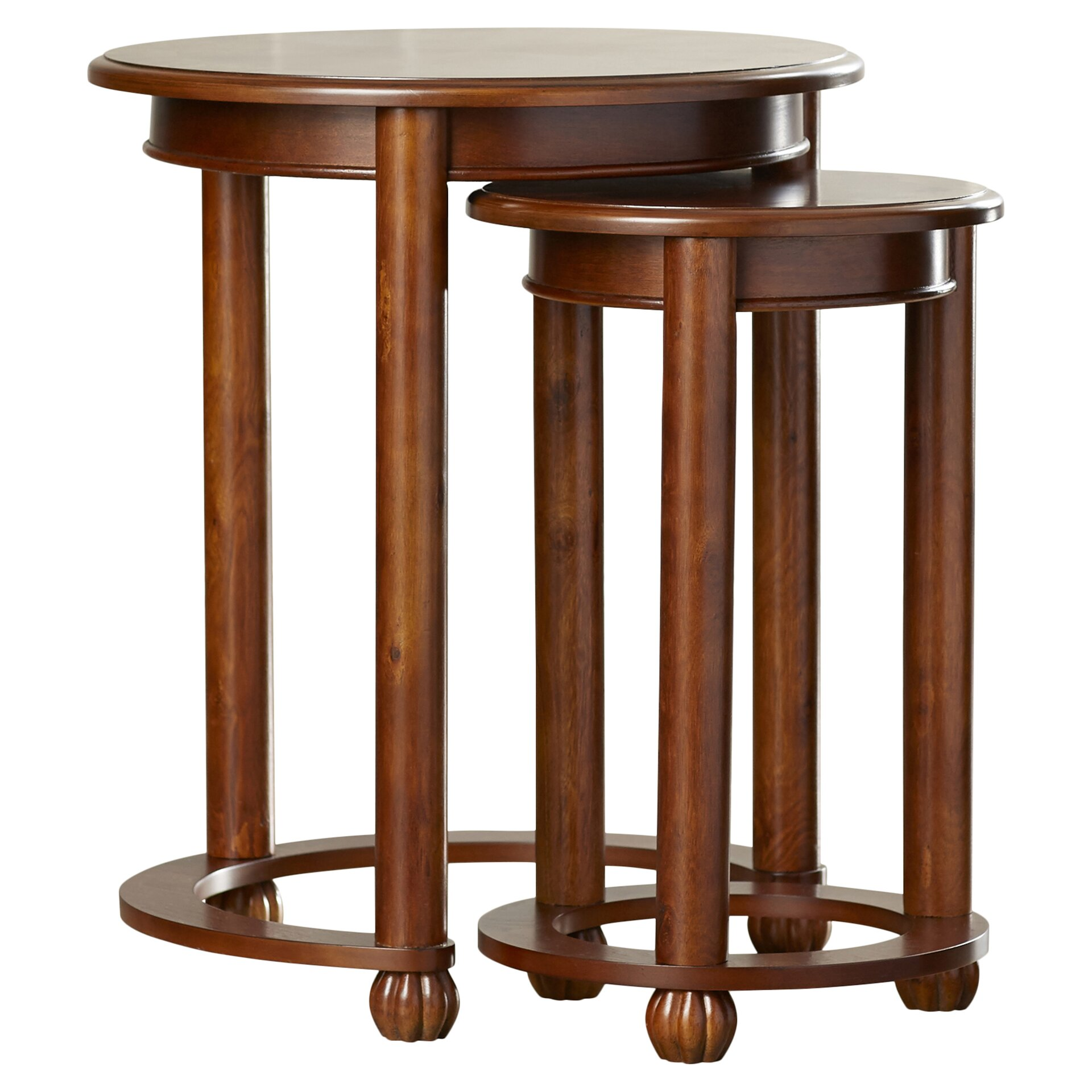 Alcott Hill Glenmont 2 Piece Nesting Table Set & Reviews Wayfair . Full resolution  photo, nominally Width 1920 Height 1920 pixels, photo with #412210.
