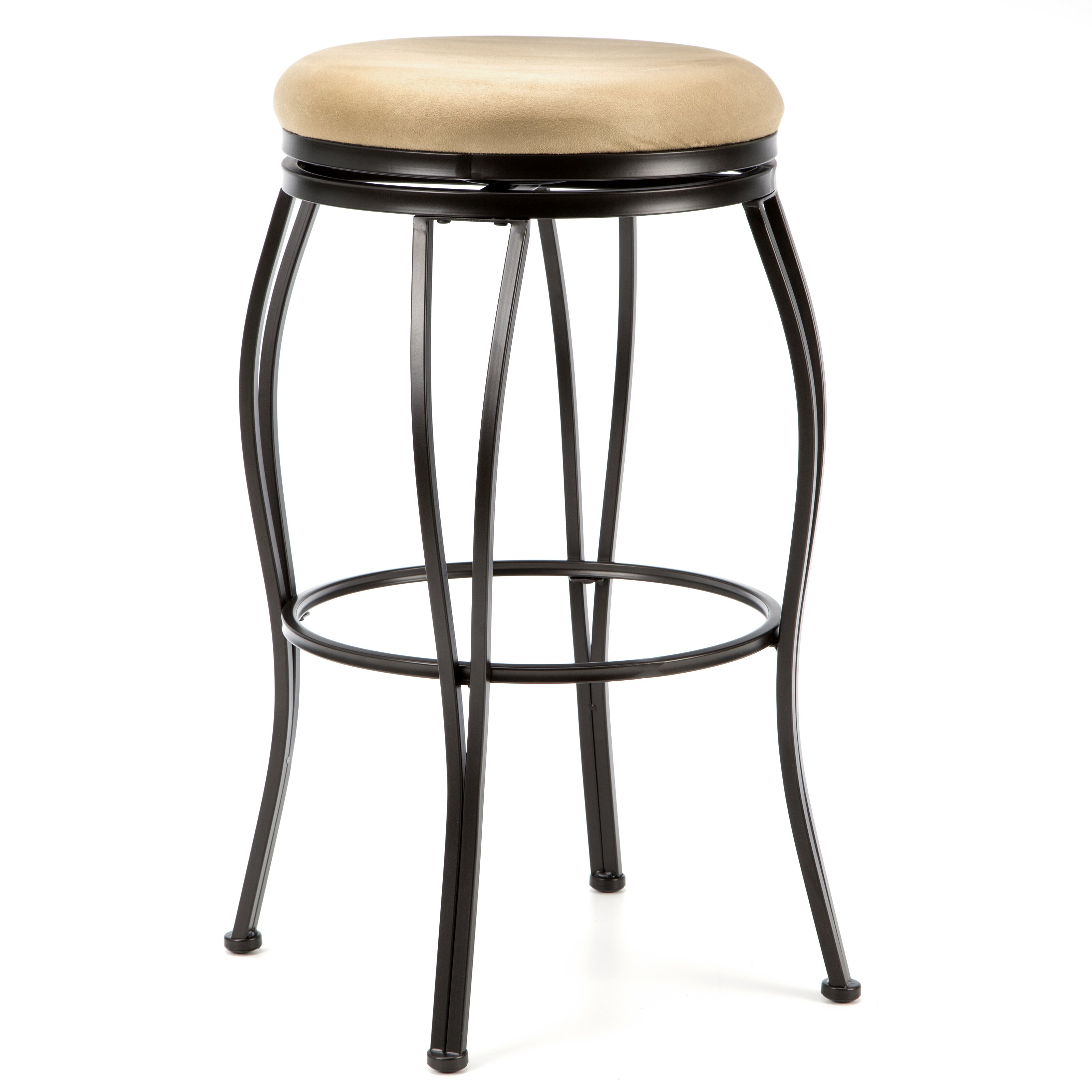 Alcott Hill Meyers 24 Quot Swivel Bar Stool With Cushion