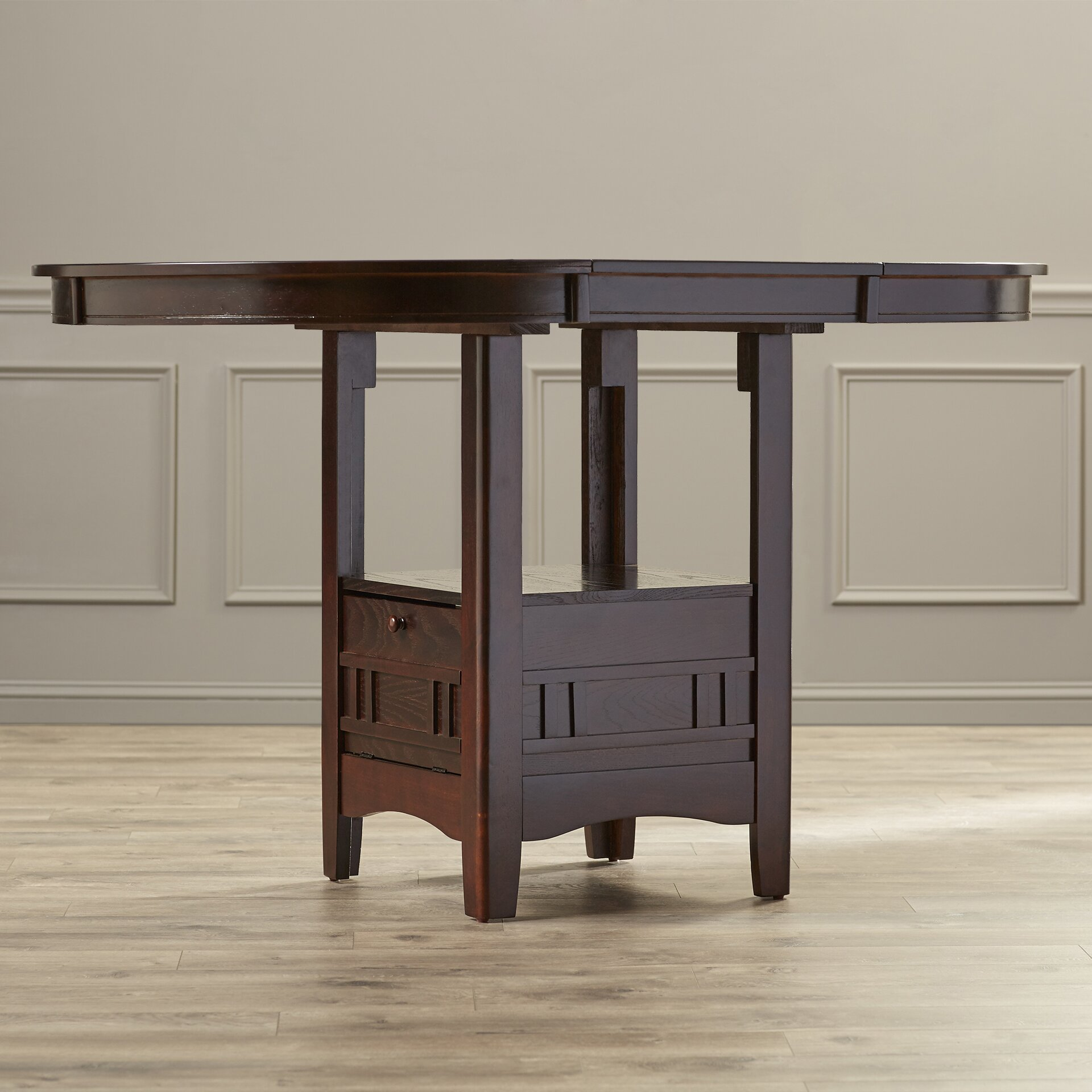 Counter Height Dining Tables: Alcott Hill Norwalk Counter Height Extendable Dining Table