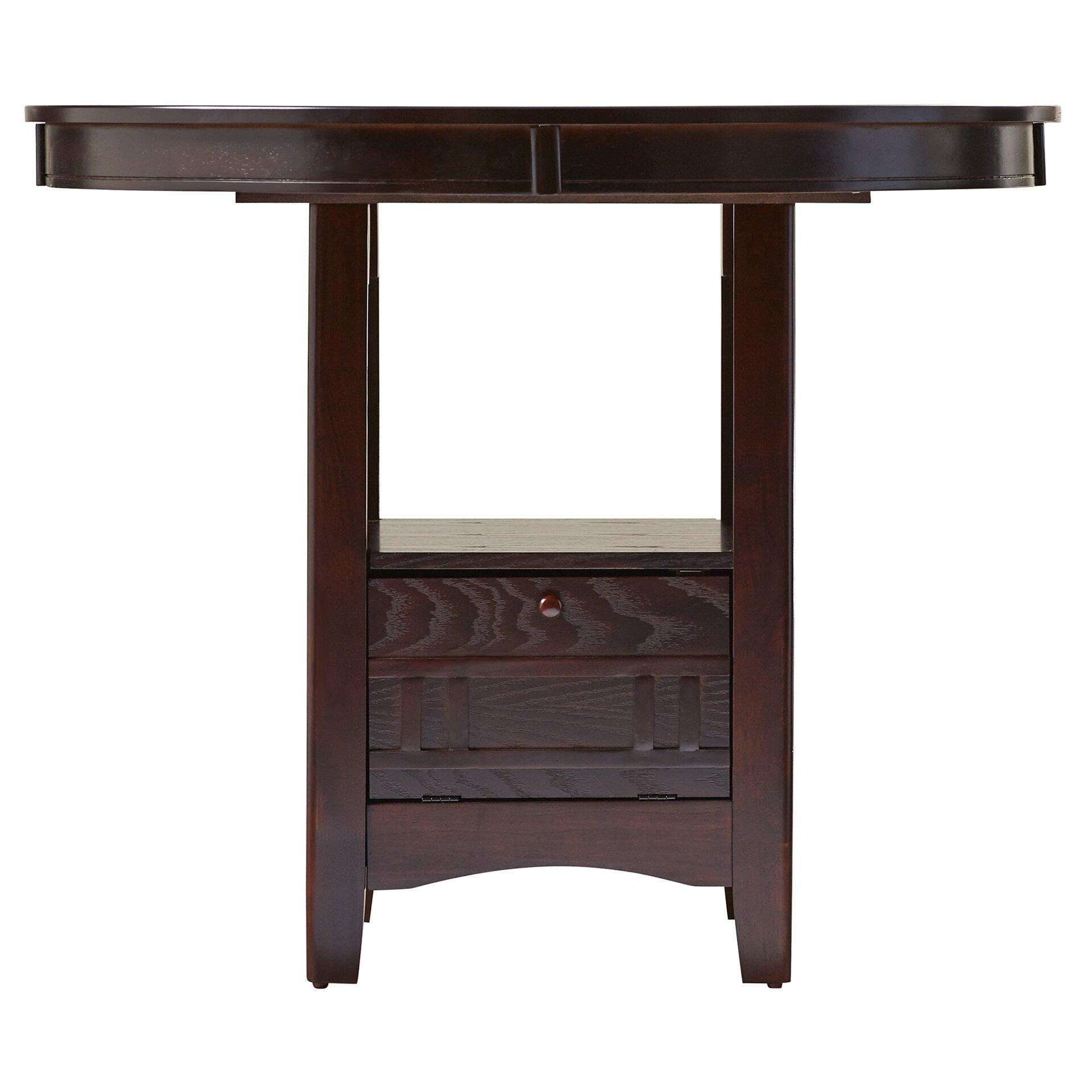 Alcott Hill Norwalk Counter Height Extendable Dining Table  : Alcott Hill25C225AE Norwalk Counter Height Extendable Dining Table from www.wayfair.com size 1920 x 1920 jpeg 252kB