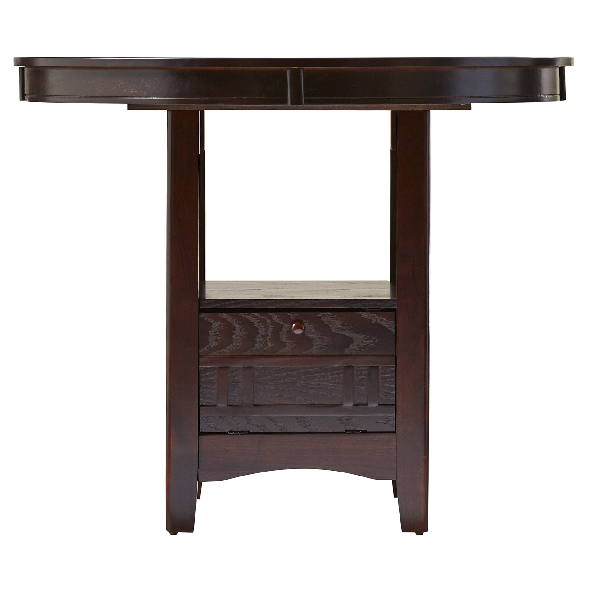Alcott Hill Norwalk Counter Height Extendable Dining Table & Reviews ...