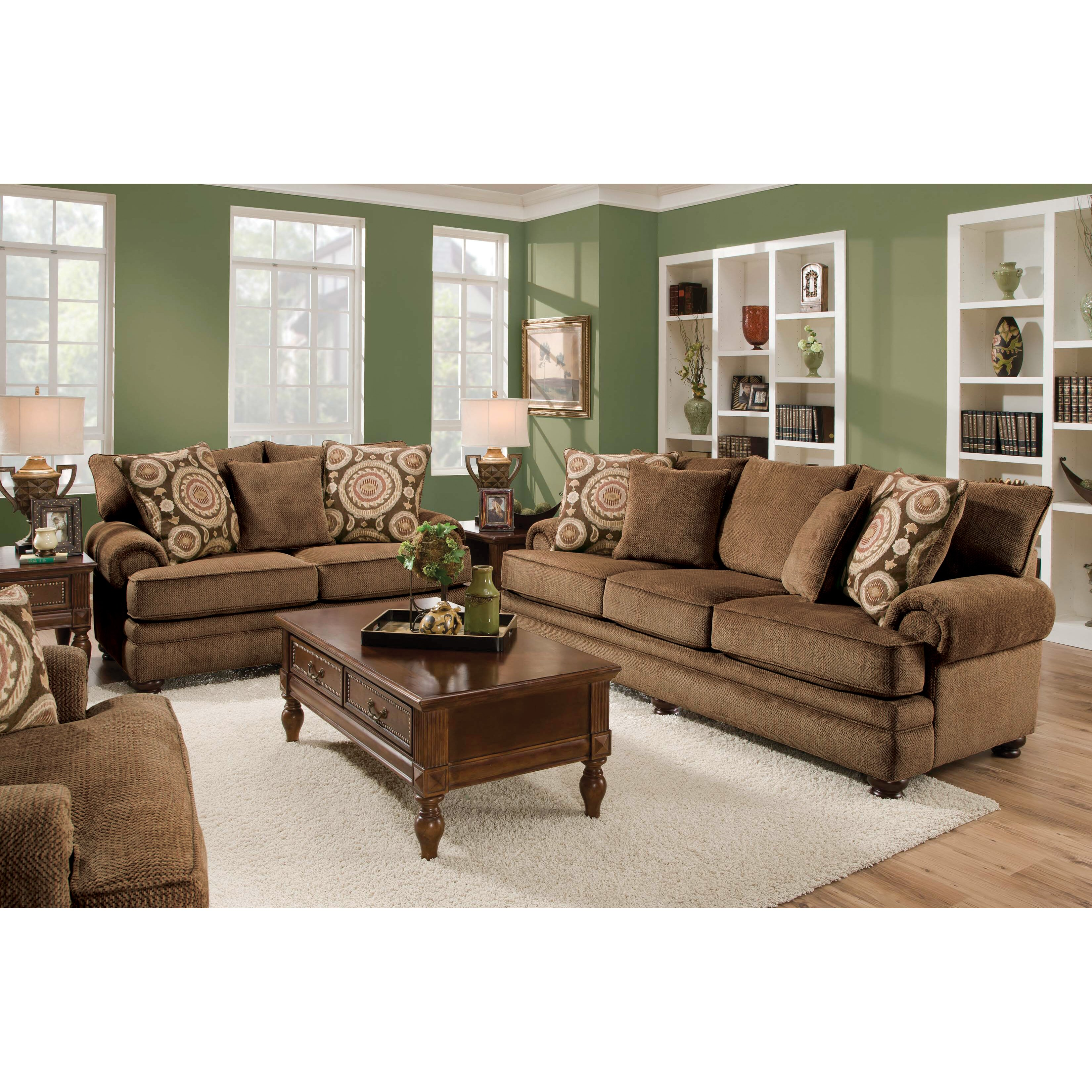 Alcott hill living room collection reviews wayfair for Living room furniture images