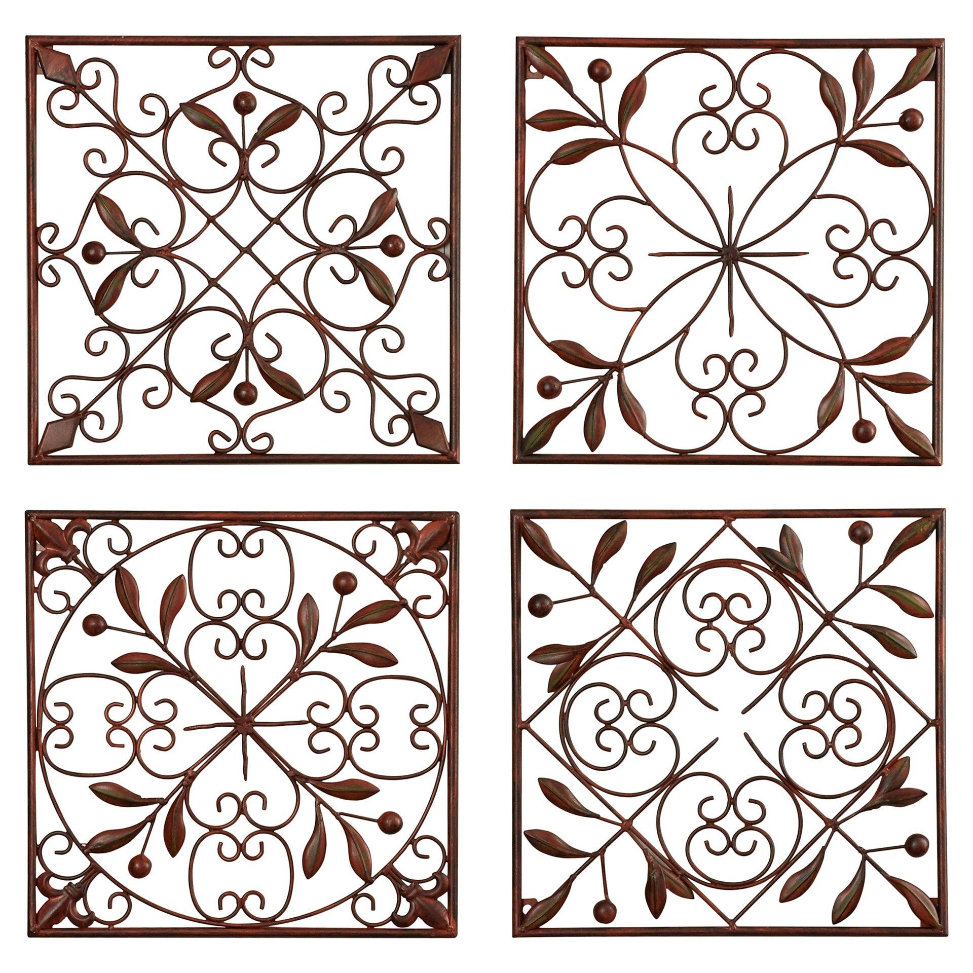 4 Piece Giolla Wall Decor Set : Alcott hill montagu piece wall d?cor set reviews wayfair