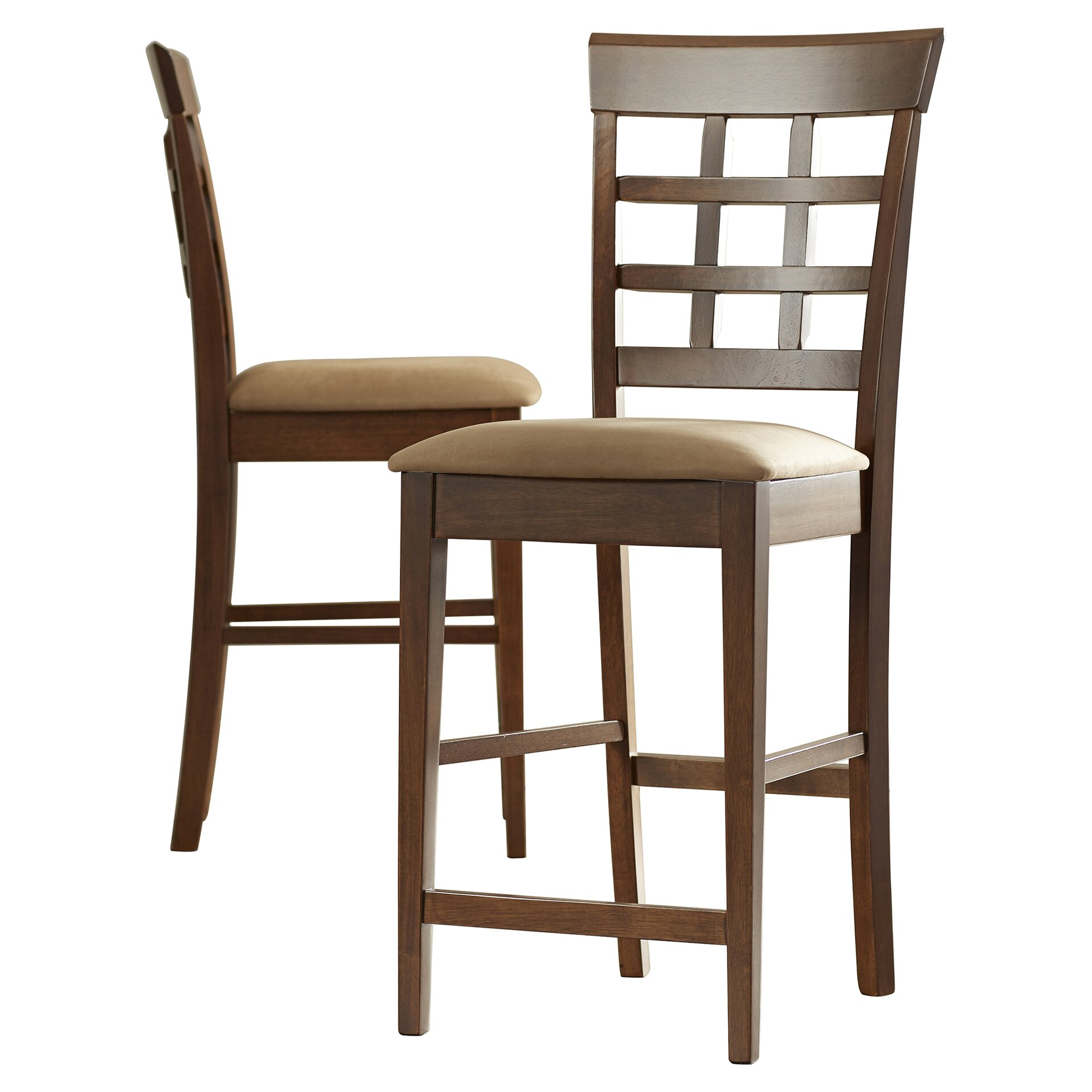 Alcott Hill Melvin 24 Quot Bar Stool With Cushion Amp Reviews