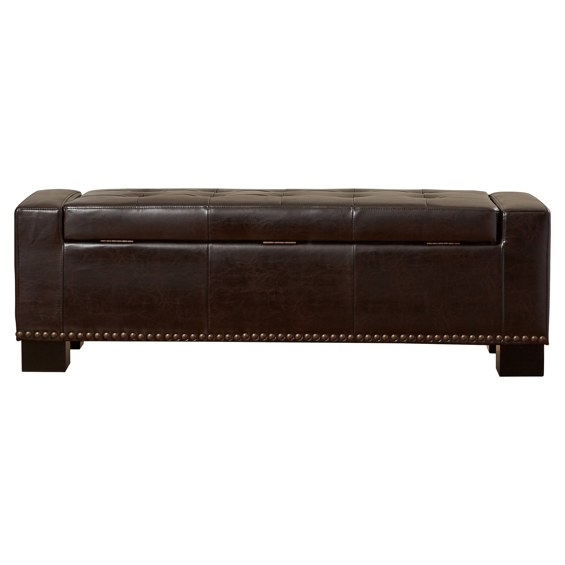 Upholstered bench seat with storage 28 images ore upholstered storage bedroom bench with Padded bench seat