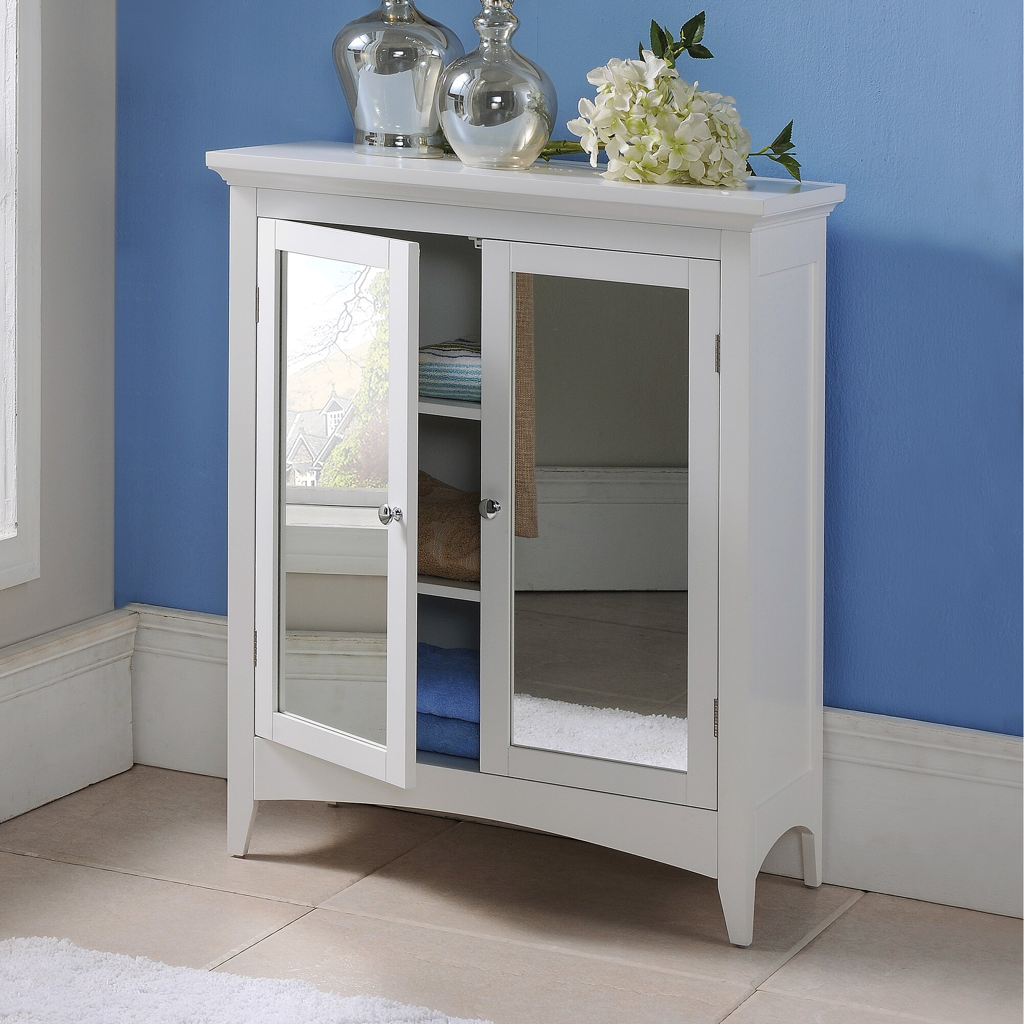 alcott hill langport 26 x 32 free standing cabinet. Black Bedroom Furniture Sets. Home Design Ideas